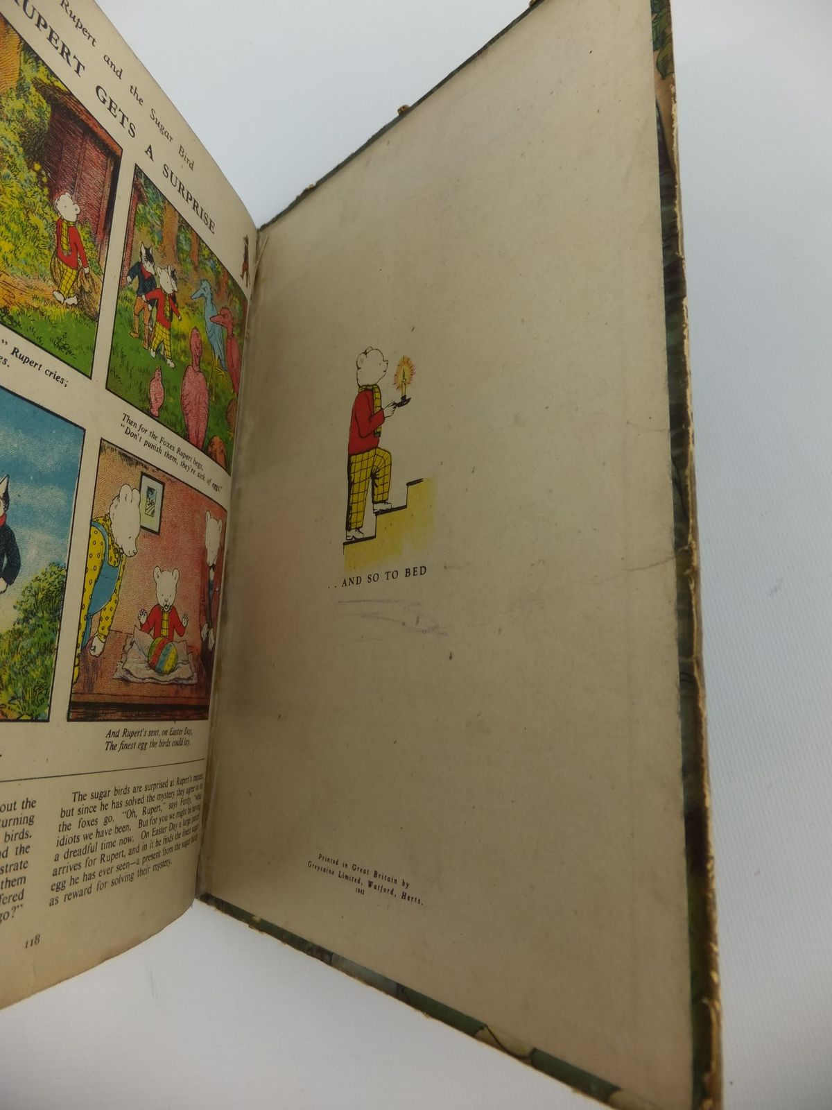 Photo of RUPERT ANNUAL 1941 - THE RUPERT BOOK written by Bestall, Alfred illustrated by Bestall, Alfred published by Daily Express (STOCK CODE: 2122148)  for sale by Stella & Rose's Books