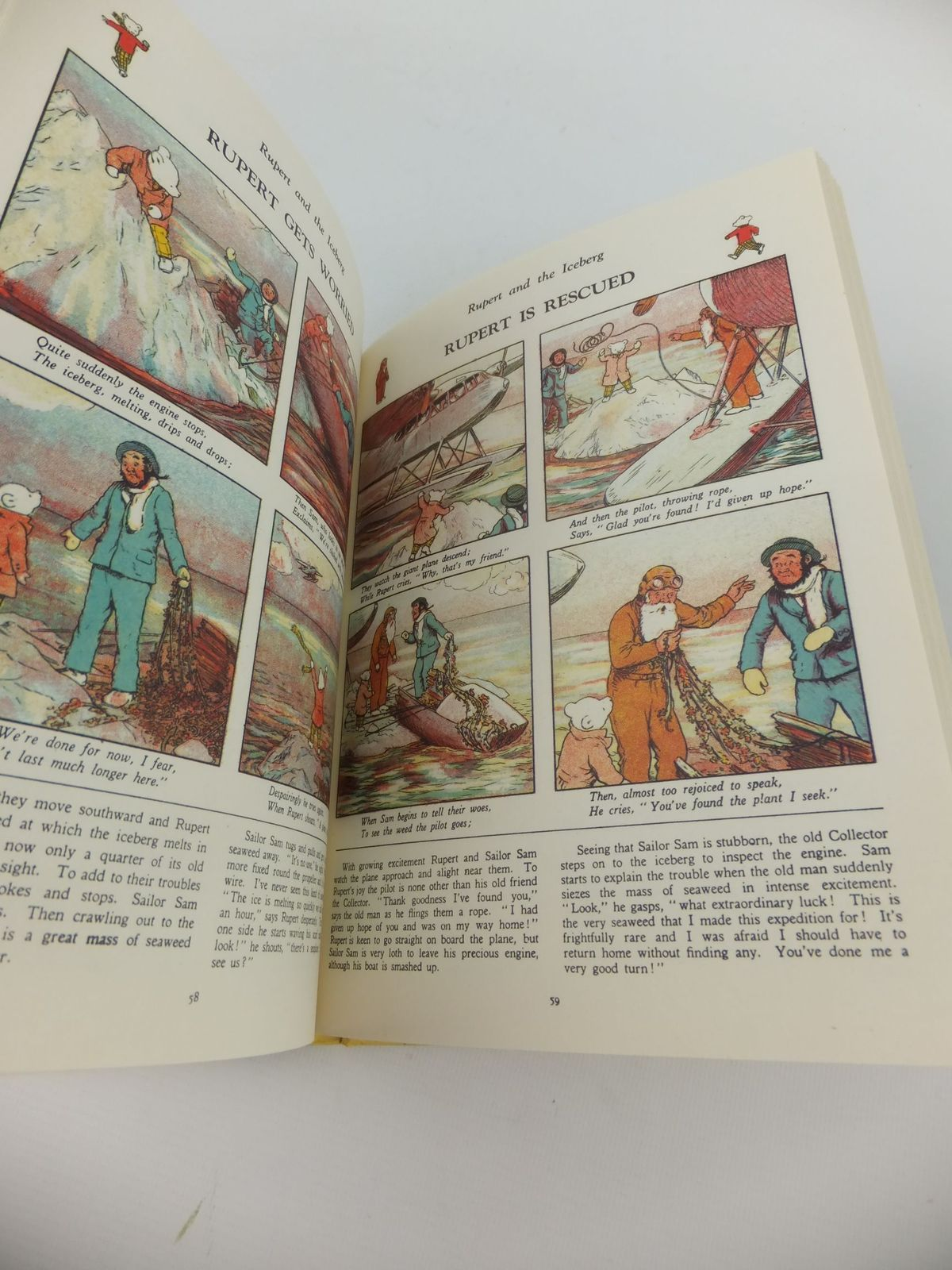 Photo of RUPERT ANNUAL 1940 (FACSIMILE) - RUPERT'S ADVENTURE BOOK written by Bestall, Alfred illustrated by Bestall, Alfred published by Annual Concepts Limited (STOCK CODE: 2122154)  for sale by Stella & Rose's Books