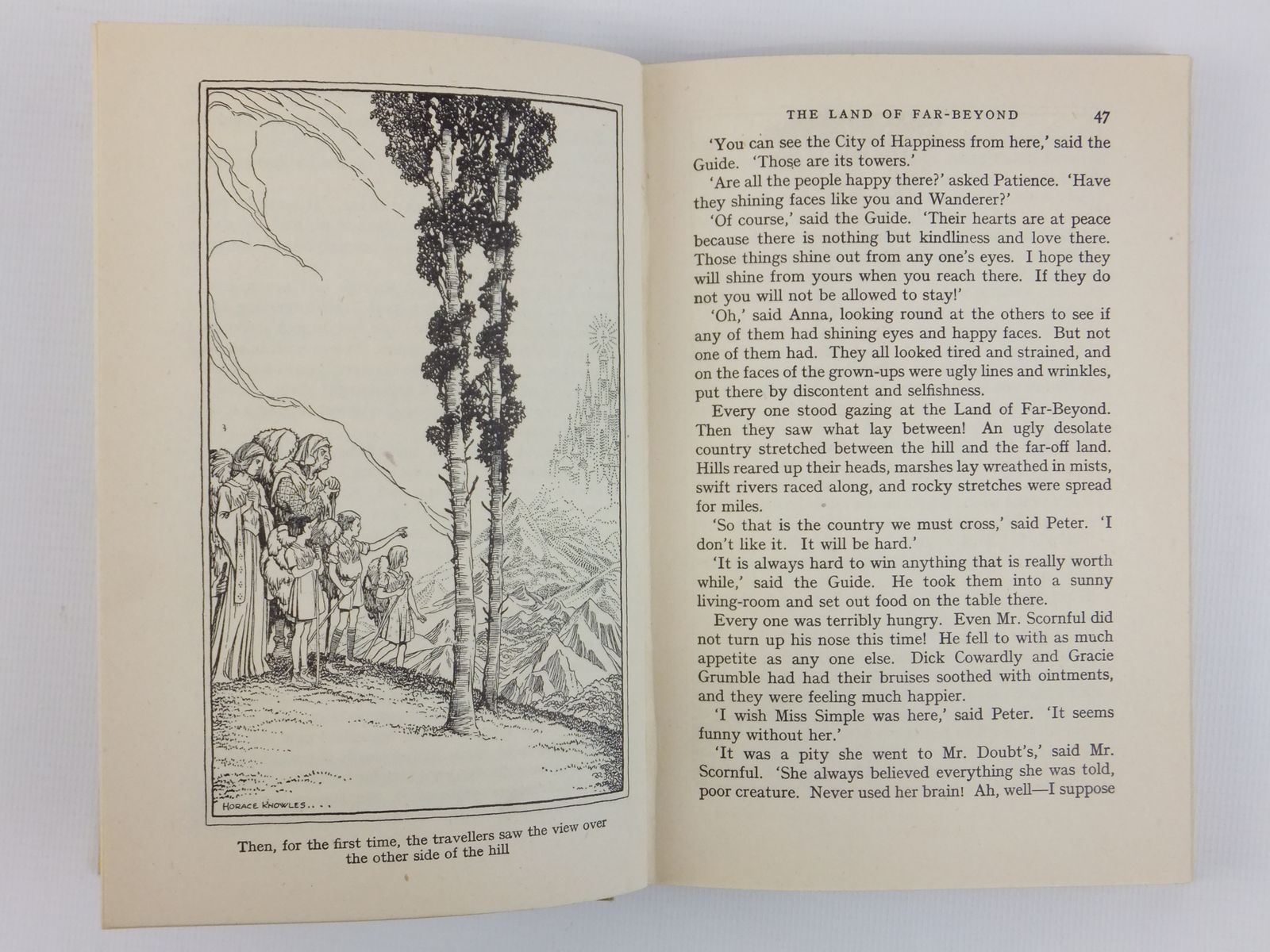 Photo of THE LAND OF FAR BEYOND written by Blyton, Enid illustrated by Knowles, Horace J. published by Methuen & Co. Ltd. (STOCK CODE: 2122163)  for sale by Stella & Rose's Books