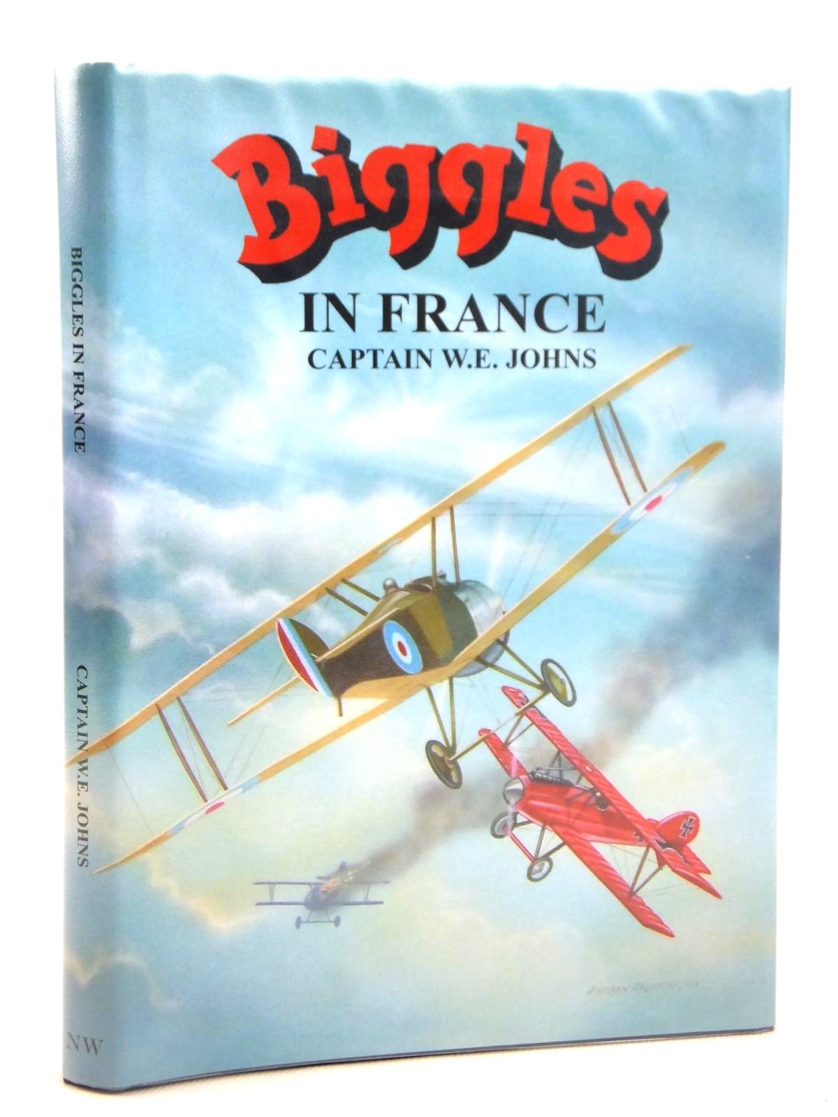 Photo of BIGGLES IN FRANCE written by Johns, W.E. illustrated by Skilleter, Andrew published by Norman Wright (STOCK CODE: 2122166)  for sale by Stella & Rose's Books