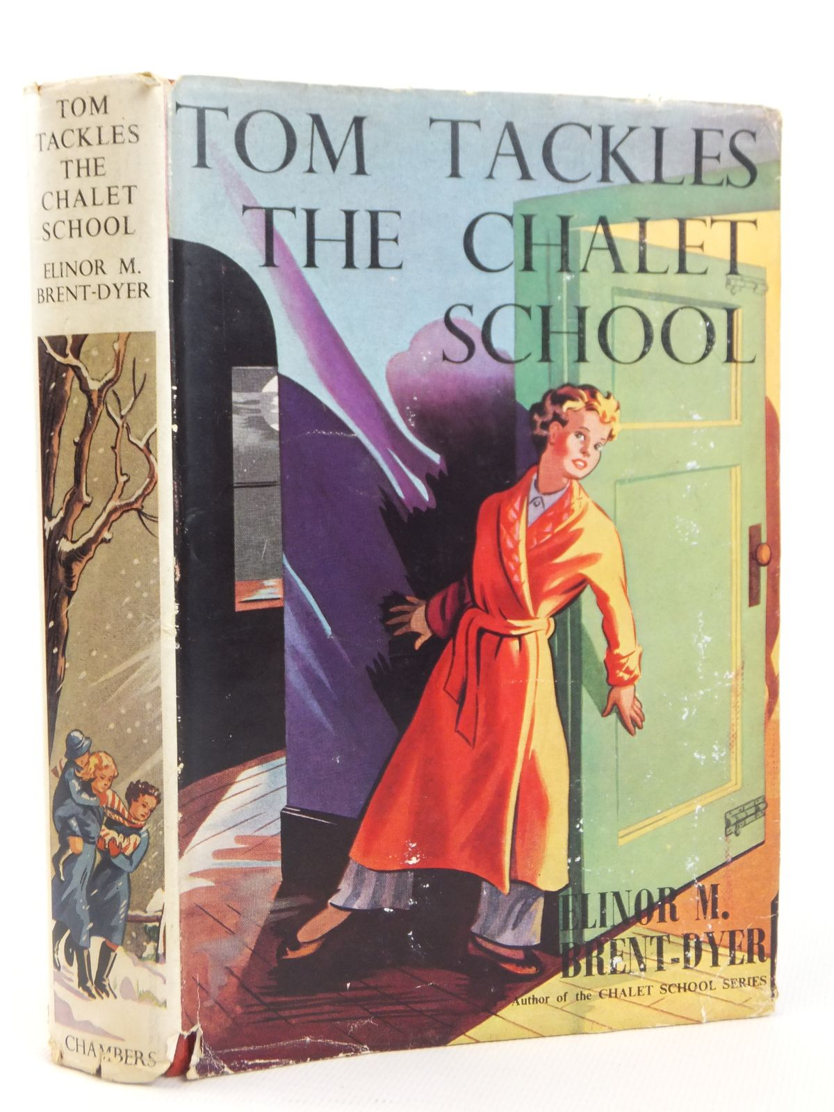Photo of TOM TACKLES THE CHALET SCHOOL written by Brent-Dyer, Elinor M. published by W. & R. Chambers Limited (STOCK CODE: 2122167)  for sale by Stella & Rose's Books