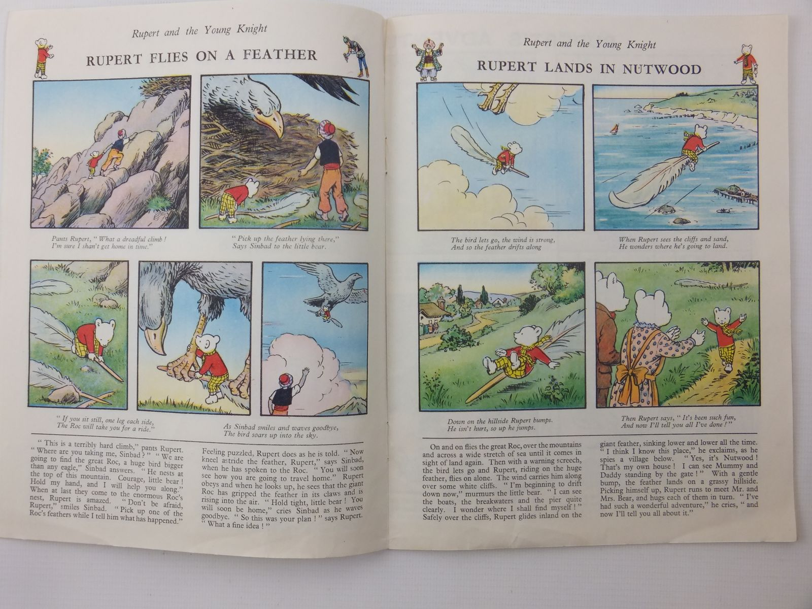 Photo of RUPERT ADVENTURE BOOK No. 49 written by Bestall, Alfred published by Daily Express, Oldbourne Book Co. Ltd. (STOCK CODE: 2122240)  for sale by Stella & Rose's Books
