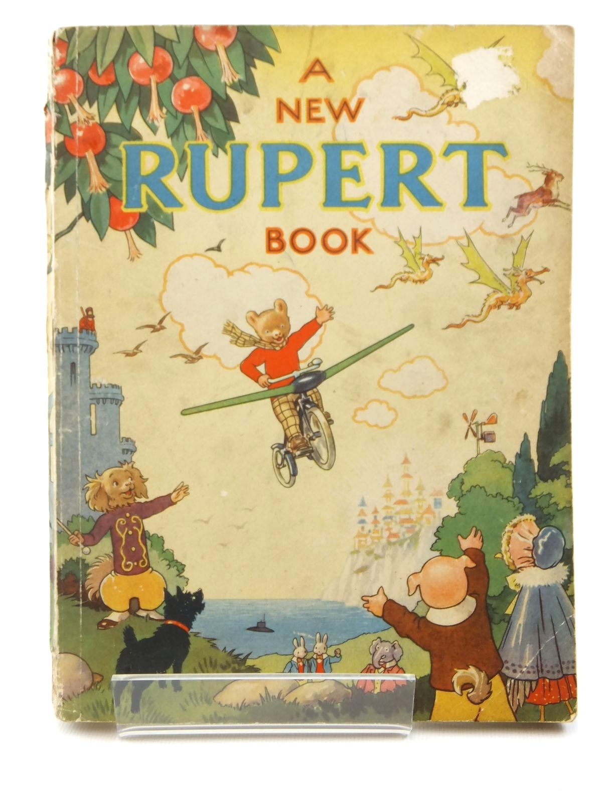 Photo of RUPERT ANNUAL 1945 - A NEW RUPERT BOOK written by Bestall, Alfred illustrated by Bestall, Alfred published by Daily Express (STOCK CODE: 2122242)  for sale by Stella & Rose's Books
