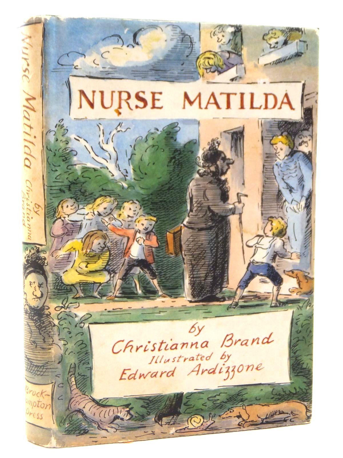 Photo of NURSE MATILDA written by Brand, Christianna illustrated by Ardizzone, Edward published by Brockhampton Press (STOCK CODE: 2122250)  for sale by Stella & Rose's Books