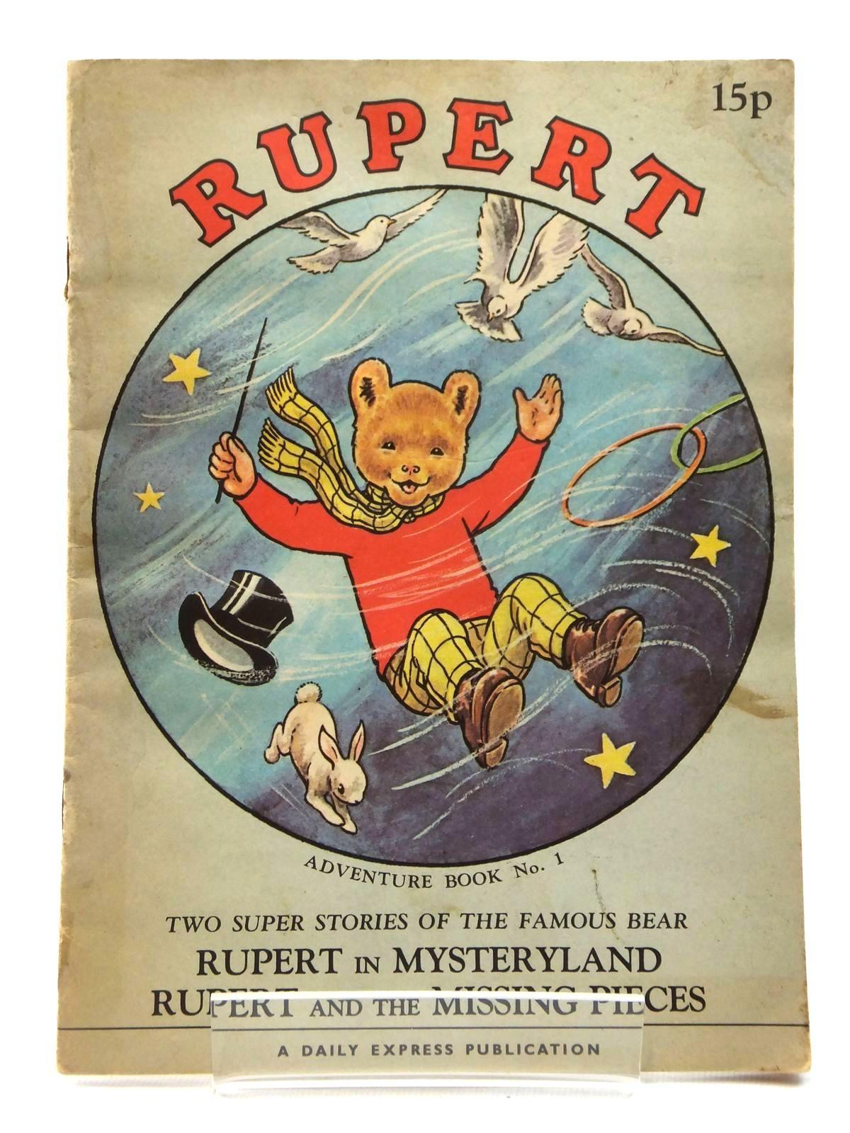 Photo of RUPERT ADVENTURE BOOK NO. 1- Stock Number: 2122297