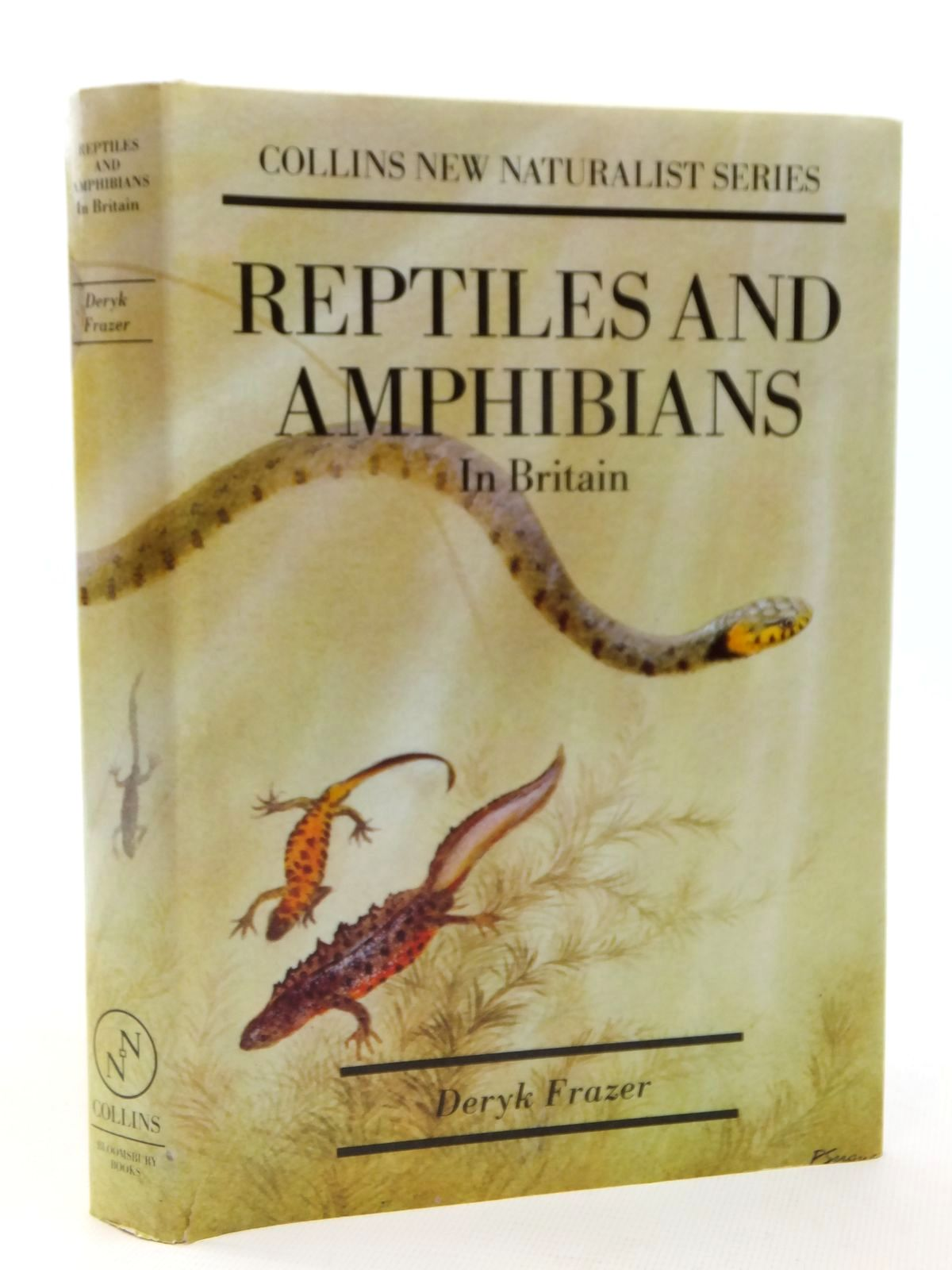 Photo of REPTILES AND AMPHIBIANS IN BRITAIN written by Frazer, Deryk published by Bloomsbury Books (STOCK CODE: 2122325)  for sale by Stella & Rose's Books