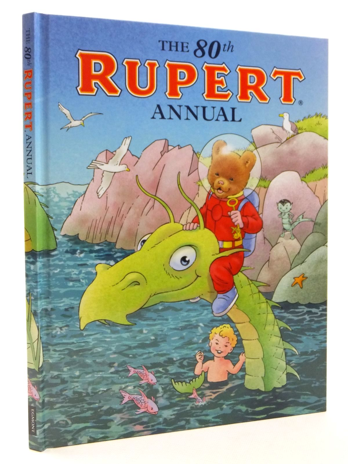 Photo of RUPERT ANNUAL 2015 written by Milton, Stephanie illustrated by Trotter, Stuart Harrold, John Bestall, Alfred published by Egmont Uk Limited (STOCK CODE: 2122340)  for sale by Stella & Rose's Books