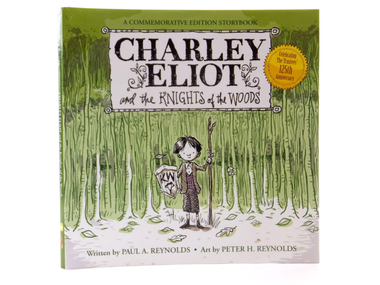 Photo of CHARLEY ELIOT AND THE KNIGHTS OF THE WOODS written by Reynolds, Paul A. illustrated by Reynolds, Peter H. published by Fable Vision (STOCK CODE: 2122345)  for sale by Stella & Rose's Books