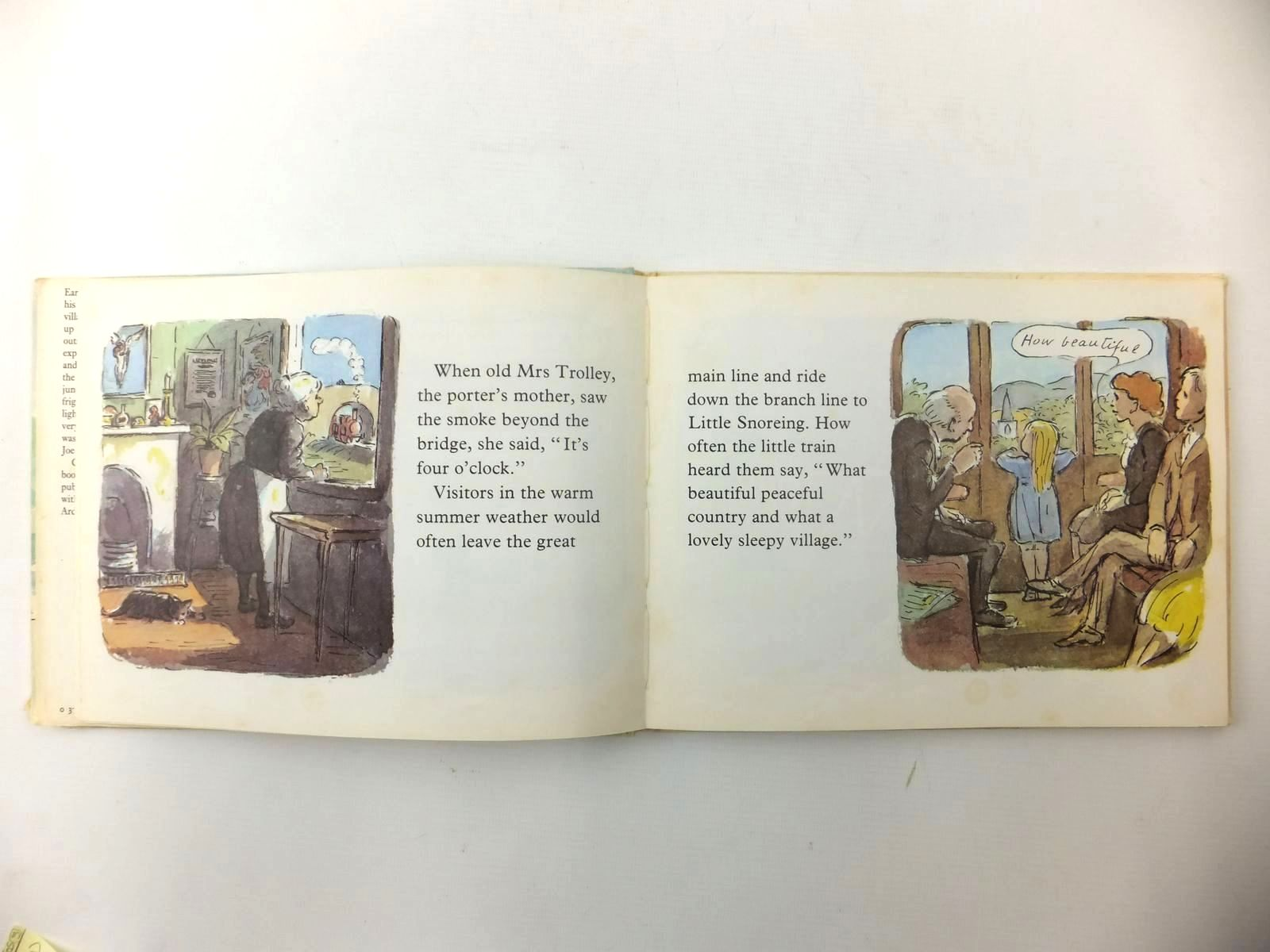 Photo of THE LITTLE TRAIN written by Greene, Graham illustrated by Ardizzone, Edward published by The Bodley Head (STOCK CODE: 2122357)  for sale by Stella & Rose's Books