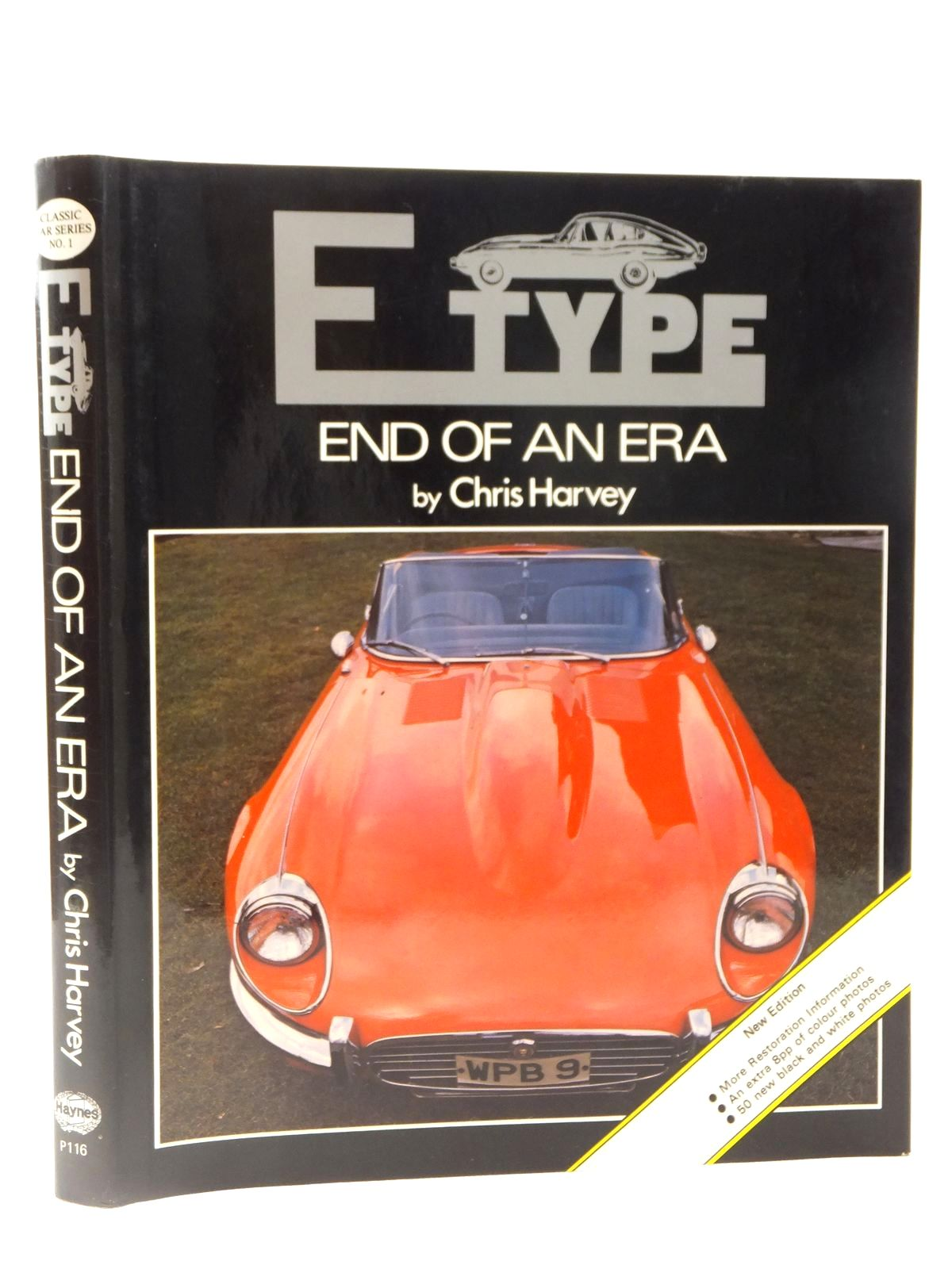 Photo of E TYPE: END OF AN ERA written by Harvey, Chris published by Oxford Illustrated Press, Haynes (STOCK CODE: 2122380)  for sale by Stella & Rose's Books