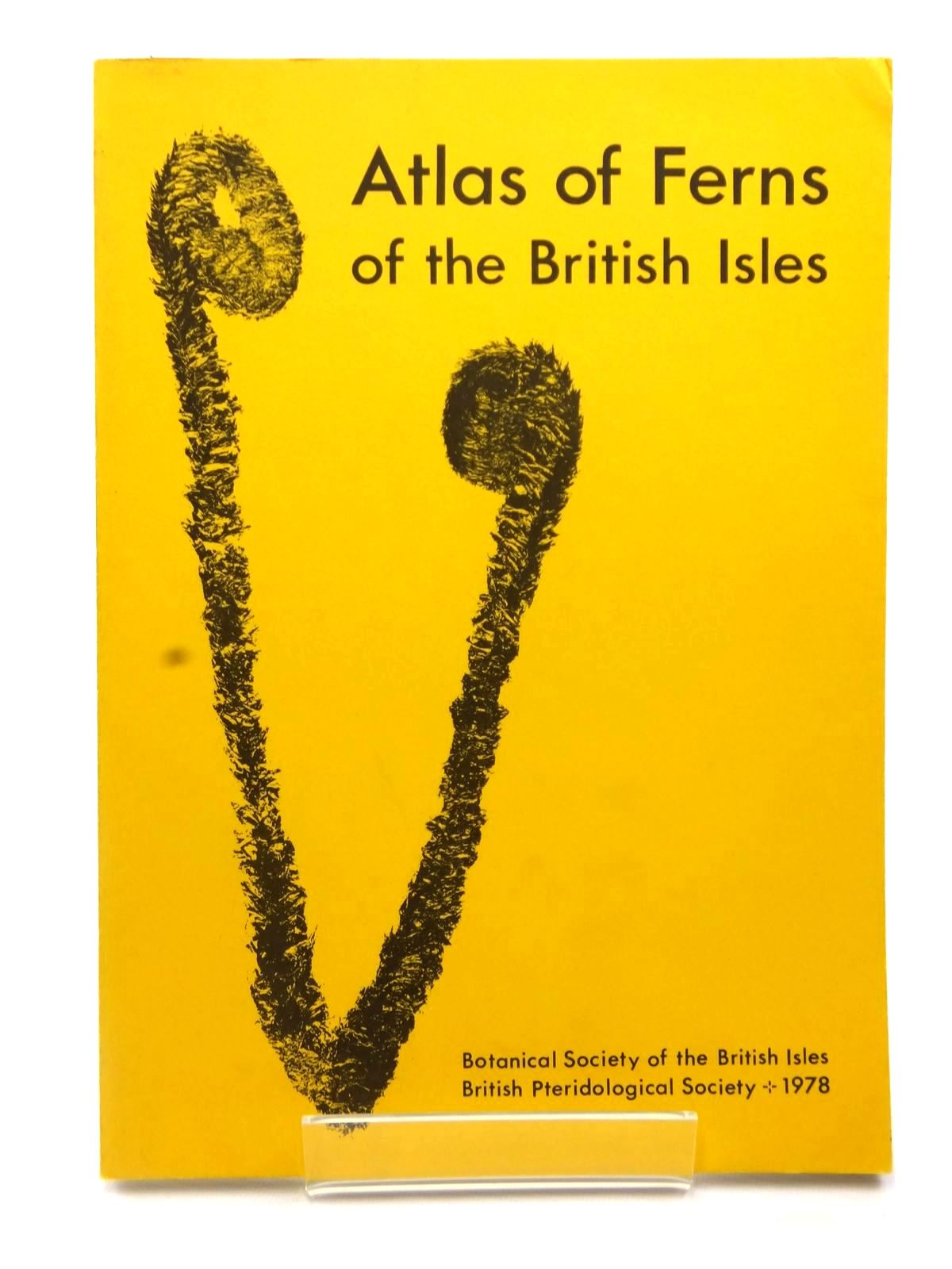 Photo of ATLAS OF FERNS OF THE BRITISH ISLES- Stock Number: 2122557