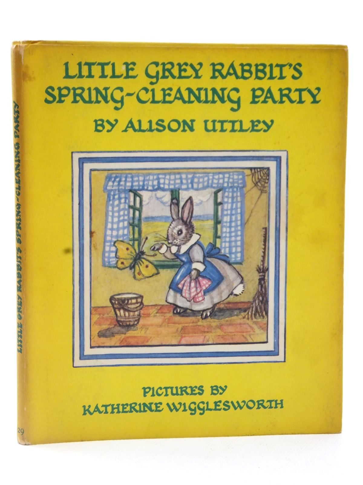 Photo of LITTLE GREY RABBIT'S SPRING-CLEANING PARTY written by Uttley, Alison illustrated by Wigglesworth, Katherine published by Collins (STOCK CODE: 2122652)  for sale by Stella & Rose's Books
