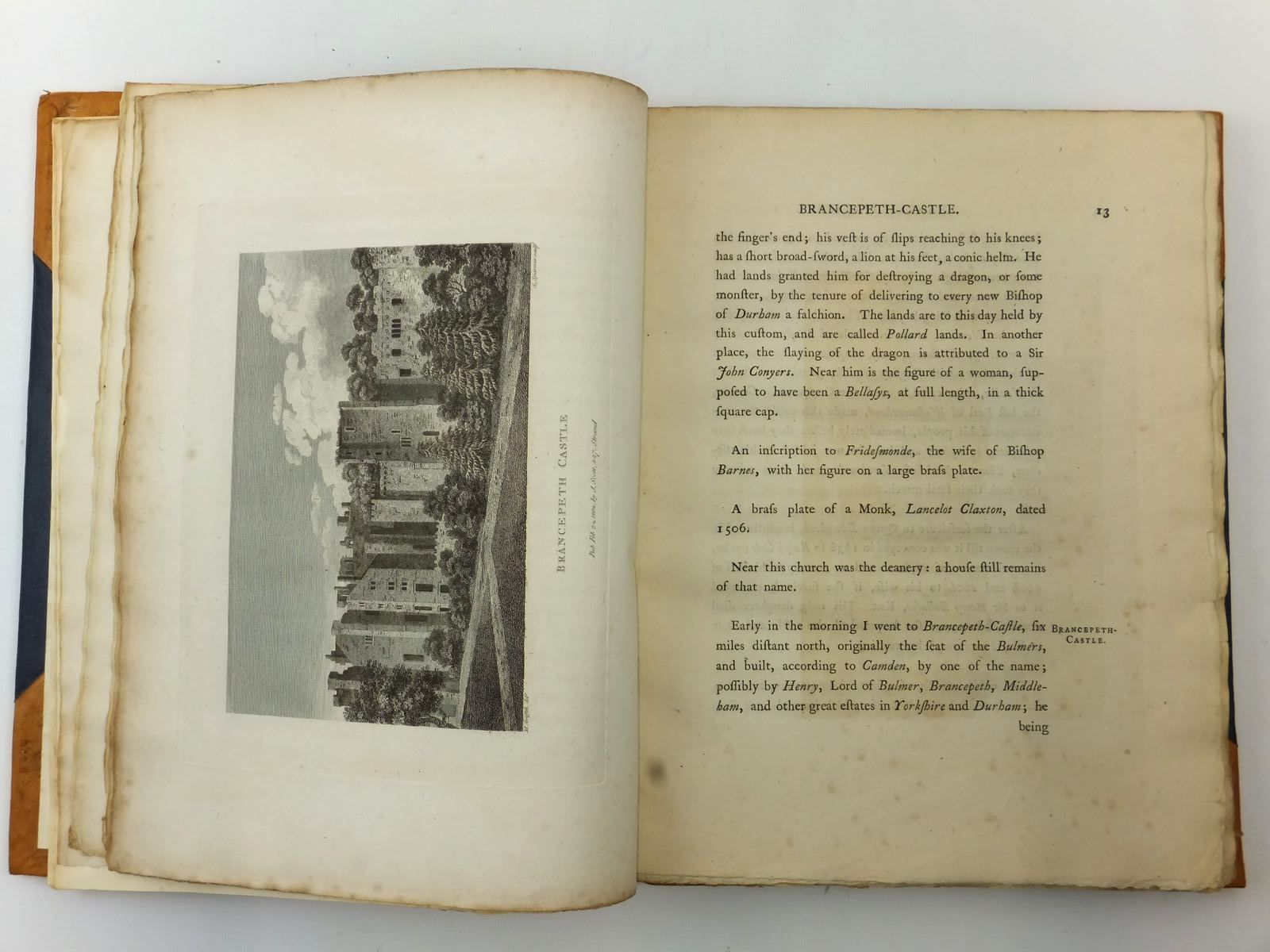 Photo of A TOUR FROM ALSTON-MOOR TO HARROWGATE AND BRIMHAM CRAGS written by Pennant, Thomas (STOCK CODE: 2122670)  for sale by Stella & Rose's Books