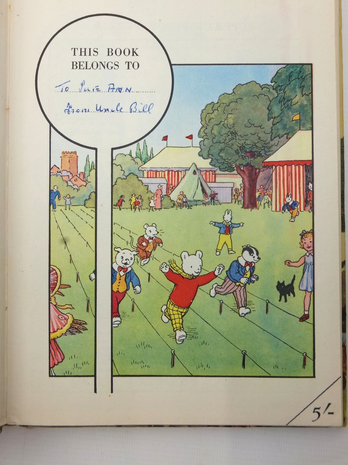 Photo of RUPERT ANNUAL 1952 - MORE RUPERT ADVENTURES written by Bestall, Alfred illustrated by Bestall, Alfred published by Daily Express (STOCK CODE: 2122903)  for sale by Stella & Rose's Books