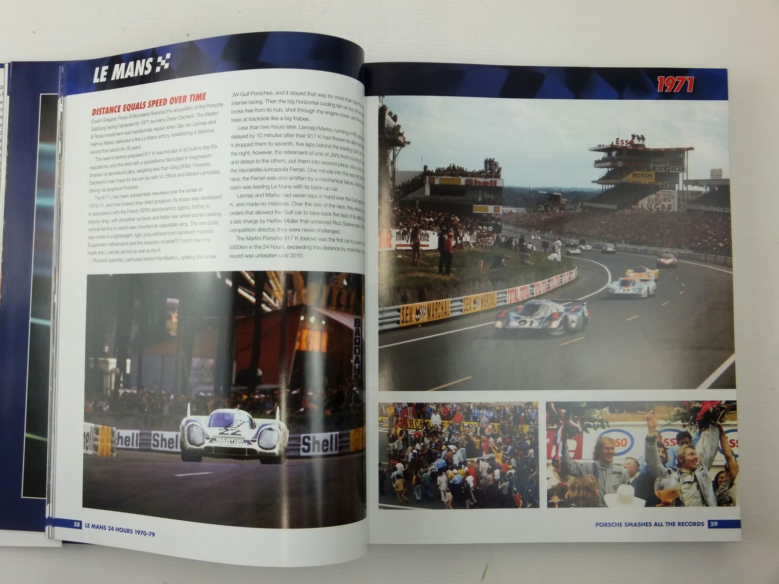Photo of LE MANS 1970-79: THE OFFICIAL HISTORY OF THE WORLD'S GREATEST MOTOR RACE written by Spurring, Quentin published by Haynes Publishing (STOCK CODE: 2122953)  for sale by Stella & Rose's Books