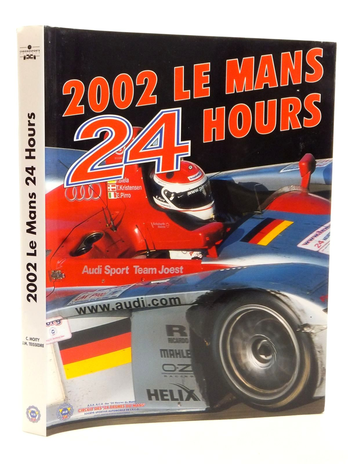 Photo of 2002 LE MANS 24 HOURS written by Teissedre, Jean-Marc<br />Moity, Christian published by Chronosports (STOCK CODE: 2122997)  for sale by Stella & Rose's Books