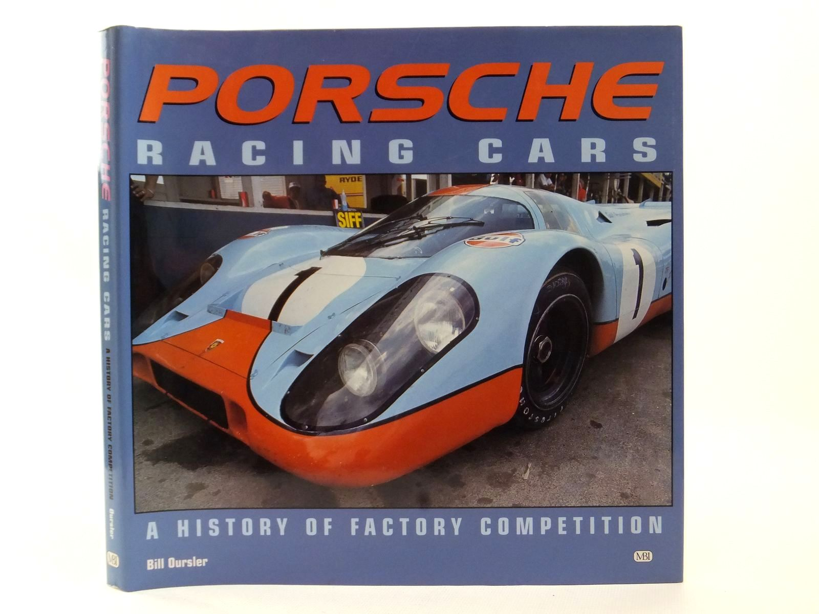 Photo of PORSCHE RACING CARS A HISTORY OF FACTORY COMPETITION- Stock Number: 2123005