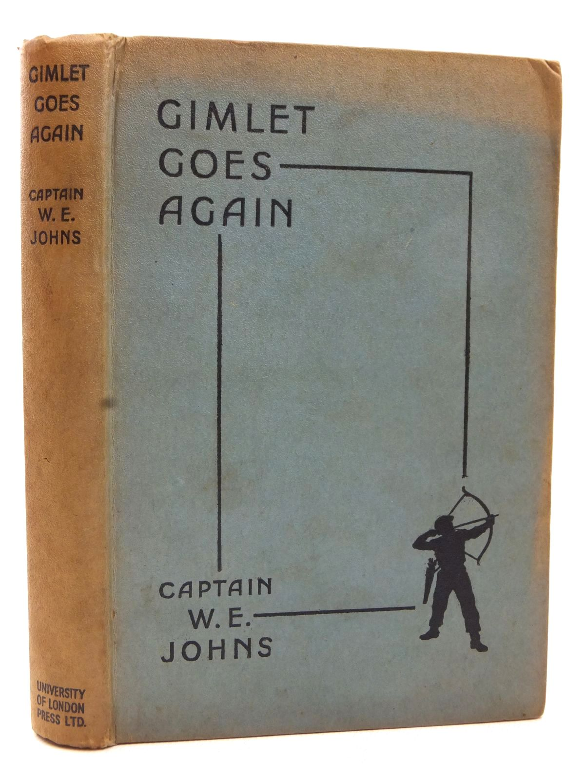 Photo of GIMLET GOES AGAIN written by Johns, W.E. illustrated by Stead,  published by University of London Press Ltd. (STOCK CODE: 2123086)  for sale by Stella & Rose's Books