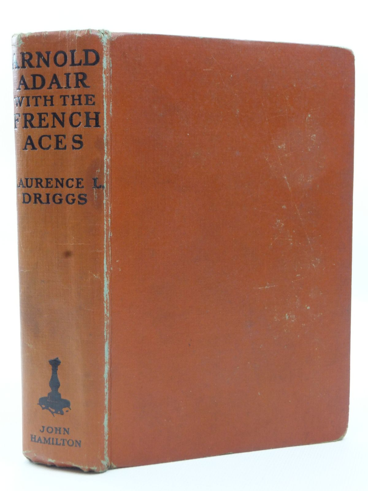 Photo of ARNOLD ADAIR WITH THE FRENCH ACES written by Driggs, Laurence published by John Hamilton Ltd. (STOCK CODE: 2123128)  for sale by Stella & Rose's Books