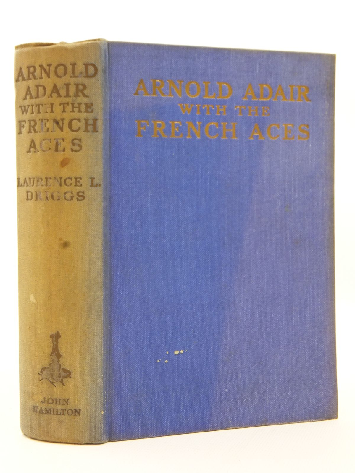 Photo of ARNOLD ADAIR WITH THE FRENCH ACES written by Driggs, Laurence published by John Hamilton Ltd. (STOCK CODE: 2123132)  for sale by Stella & Rose's Books