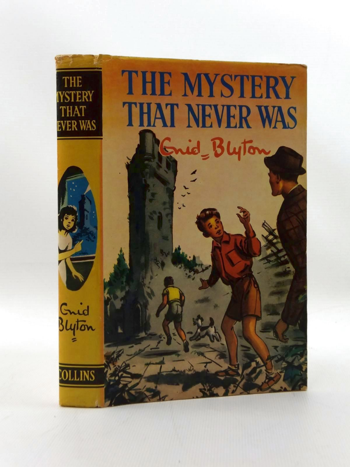 Photo of THE MYSTERY THAT NEVER WAS written by Blyton, Enid illustrated by Dunlop, Gilbert published by Collins (STOCK CODE: 2123329)  for sale by Stella & Rose's Books