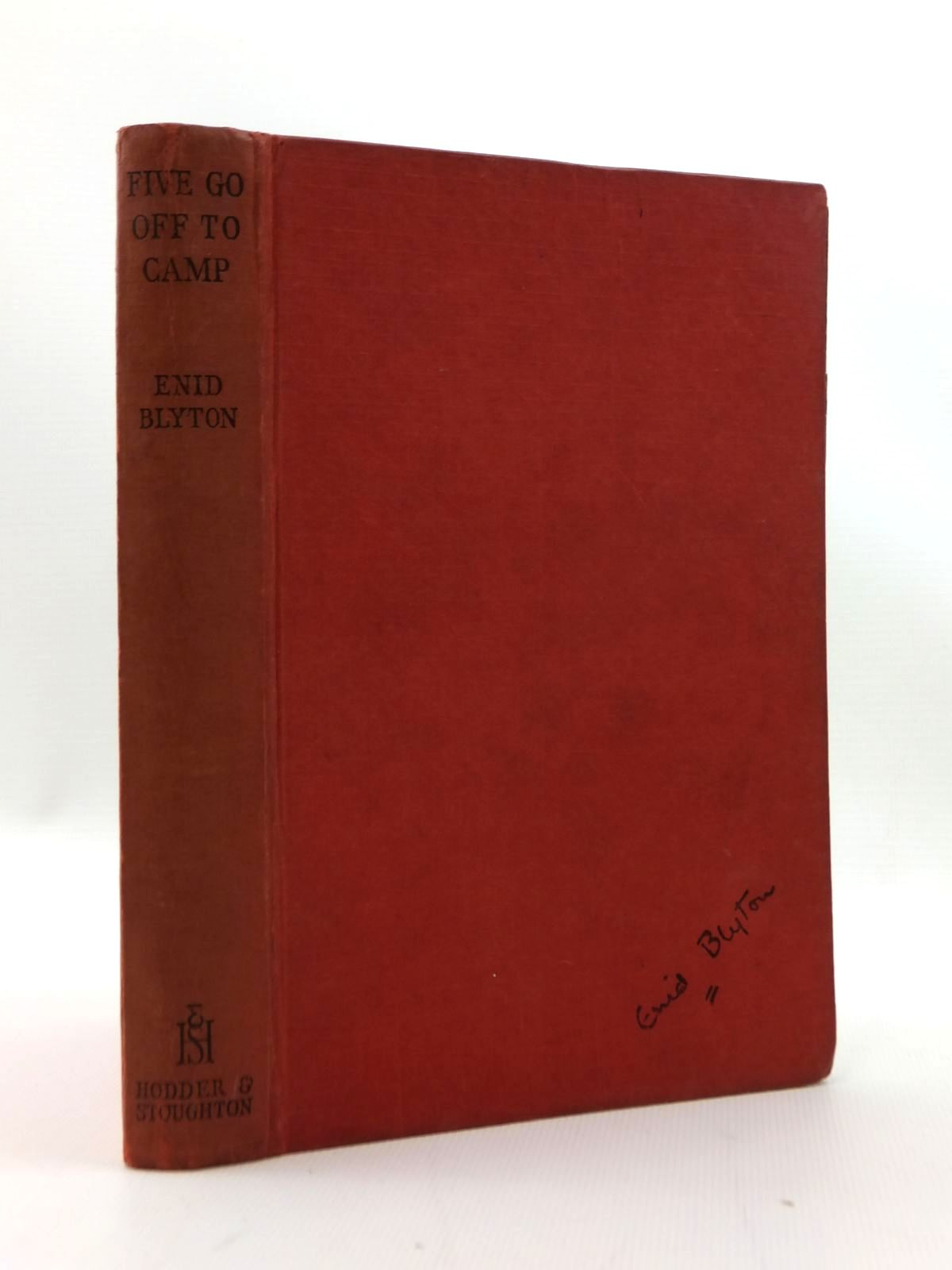 Photo of FIVE GO OFF TO CAMP written by Blyton, Enid illustrated by Soper, Eileen published by Hodder & Stoughton (STOCK CODE: 2123335)  for sale by Stella & Rose's Books