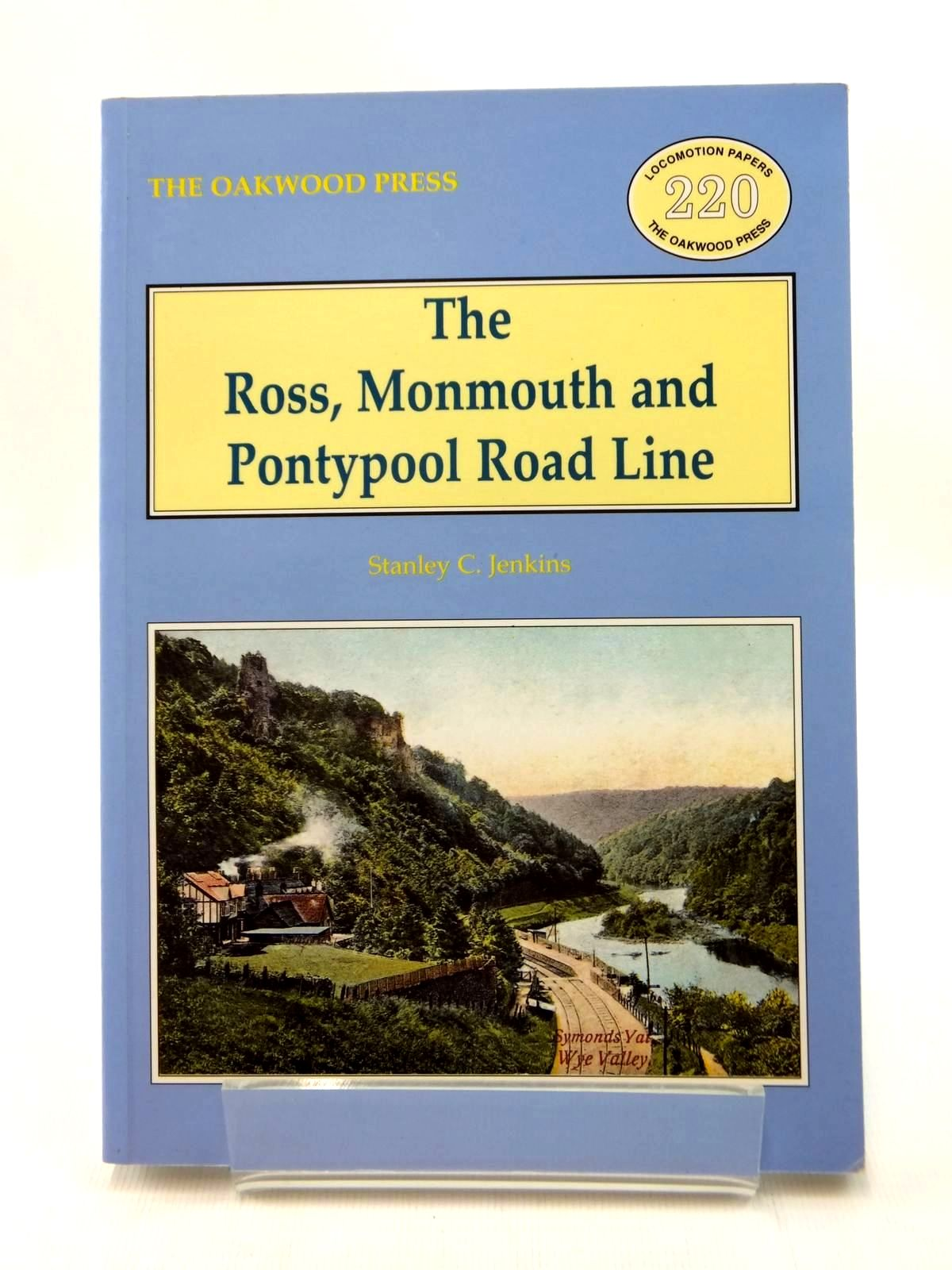 Photo of THE ROSS, MONMOUTH, & PONTYPOOL ROAD LINE written by Jenkins, Stanley C. published by The Oakwood Press (STOCK CODE: 2123369)  for sale by Stella & Rose's Books