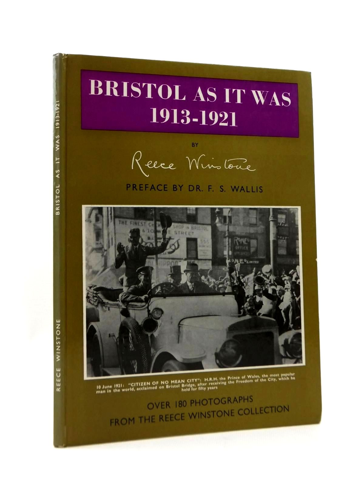 Photo of BRISTOL AS IT WAS 1913-1921 written by Winstone, Reece published by Reece Winstone (STOCK CODE: 2123374)  for sale by Stella & Rose's Books