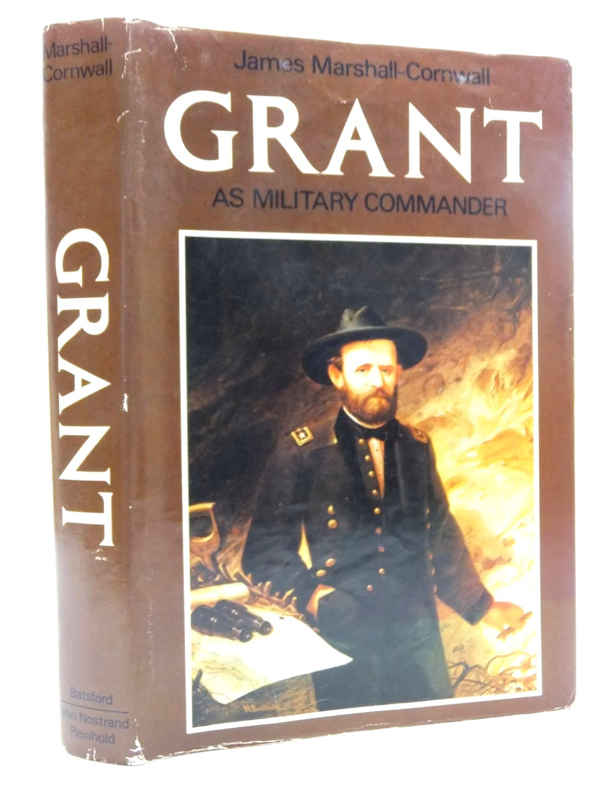 Photo of GRANT AS MILITARY COMMANDER written by Marshall-Cornwall, James published by B.T. Batsford Ltd. (STOCK CODE: 2123442)  for sale by Stella & Rose's Books