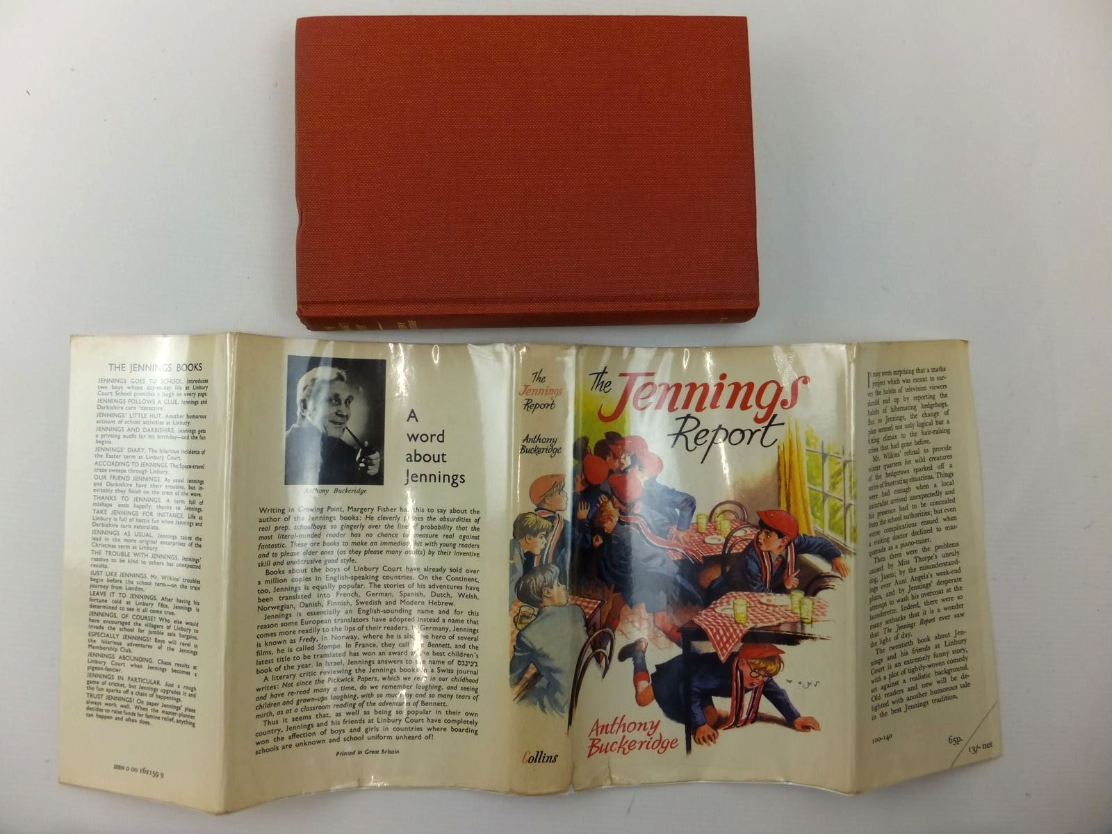 Photo of THE JENNINGS REPORT written by Buckeridge, Anthony illustrated by Mays,  published by Collins (STOCK CODE: 2123519)  for sale by Stella & Rose's Books