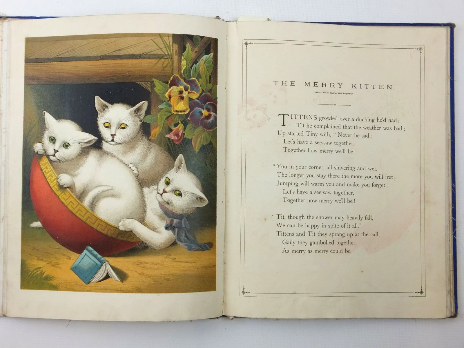 Photo of THE THREE LITTLE KITTENS, THE THREE WHITE KITTENS, &C. published by Thomas Nelson & Sons (STOCK CODE: 2123524)  for sale by Stella & Rose's Books