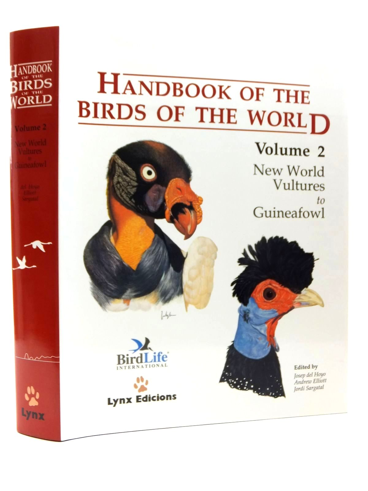 Photo of HANDBOOK OF THE BIRDS OF THE WORLD VOLUME 2: NEW WORLD VULTURES TO GUINEAFOWL- Stock Number: 2123527