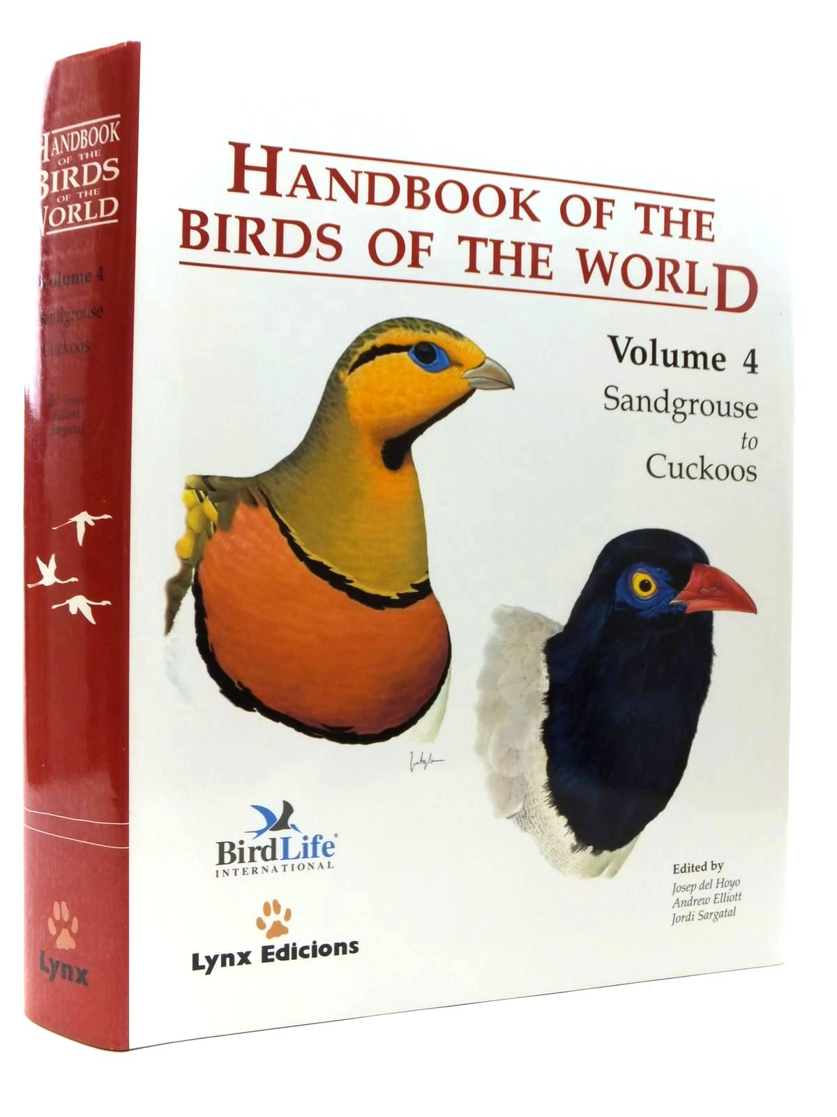Photo of HANDBOOK OF THE BIRDS OF THE WORLD VOLUME 4: SANDGROUSE TO CUCKOOS- Stock Number: 2123530