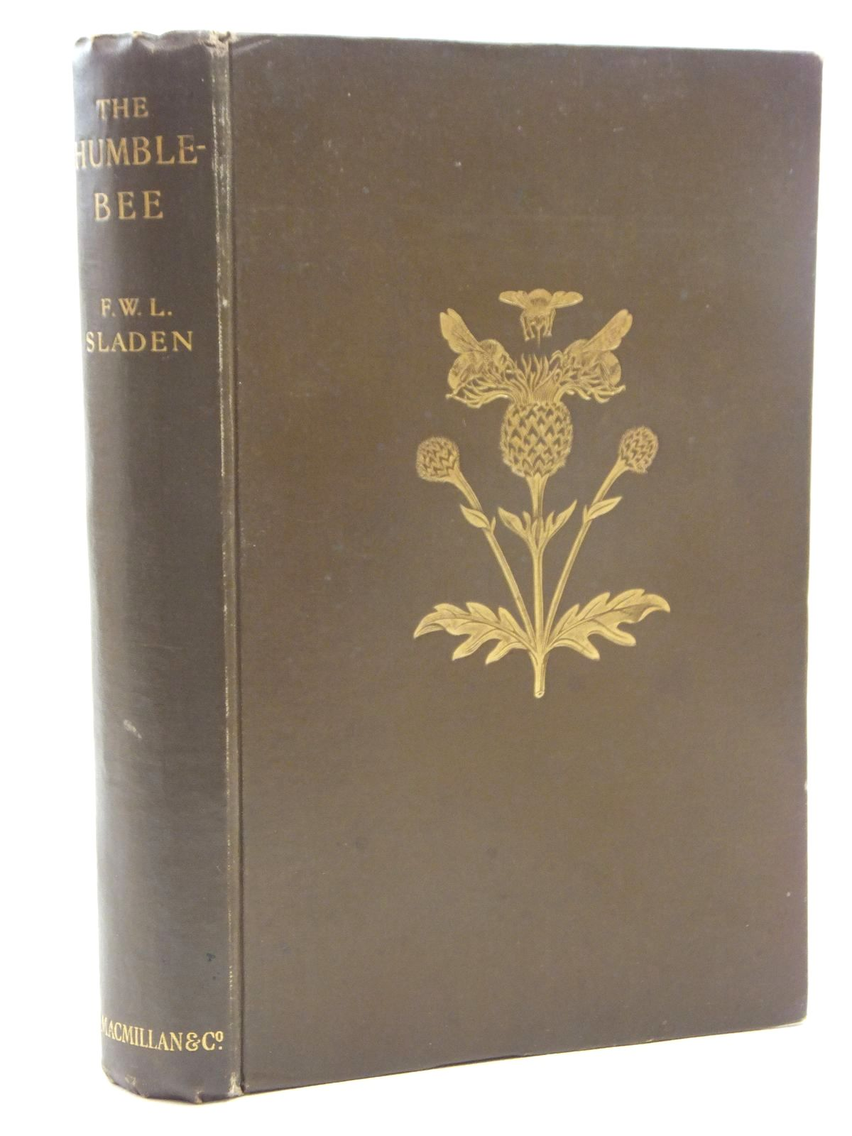 Photo of THE HUMBLE-BEE written by Sladen, F.W.L. published by Macmillan & Co. Ltd. (STOCK CODE: 2123540)  for sale by Stella & Rose's Books