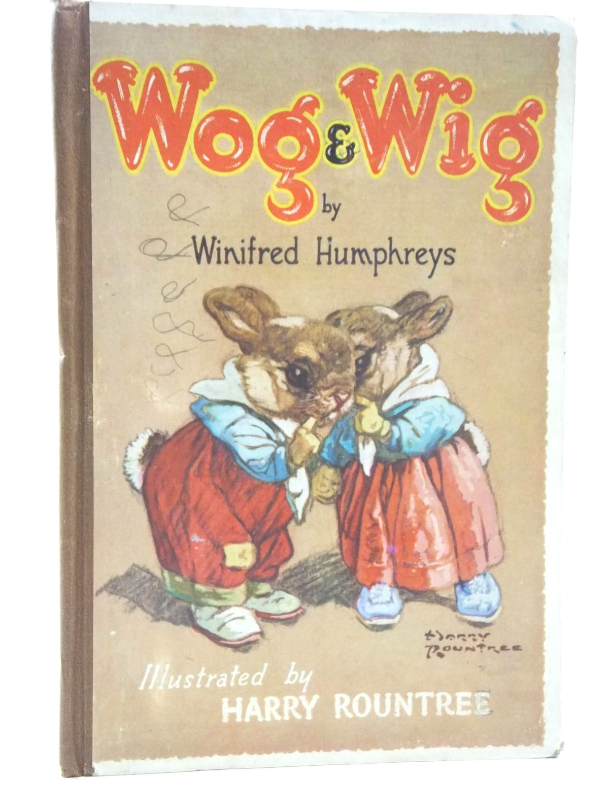 Photo of WOG AND WIG written by Humphreys, Winifred illustrated by Rountree, Harry published by Franklyn Ward & Wheeler Ltd. (STOCK CODE: 2123576)  for sale by Stella & Rose's Books