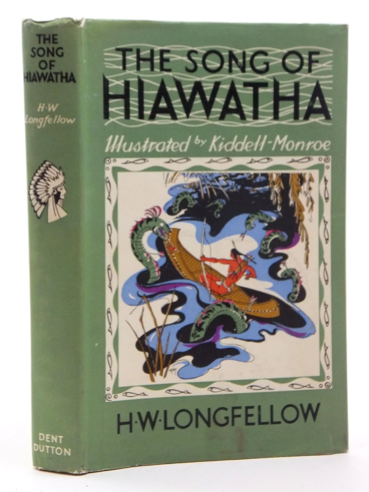Photo of THE SONG OF HIAWATHA written by Longfellow, Henry Wadsworth illustrated by Kiddell-Monroe, Joan published by J.M. Dent & Sons Ltd. (STOCK CODE: 2123600)  for sale by Stella & Rose's Books