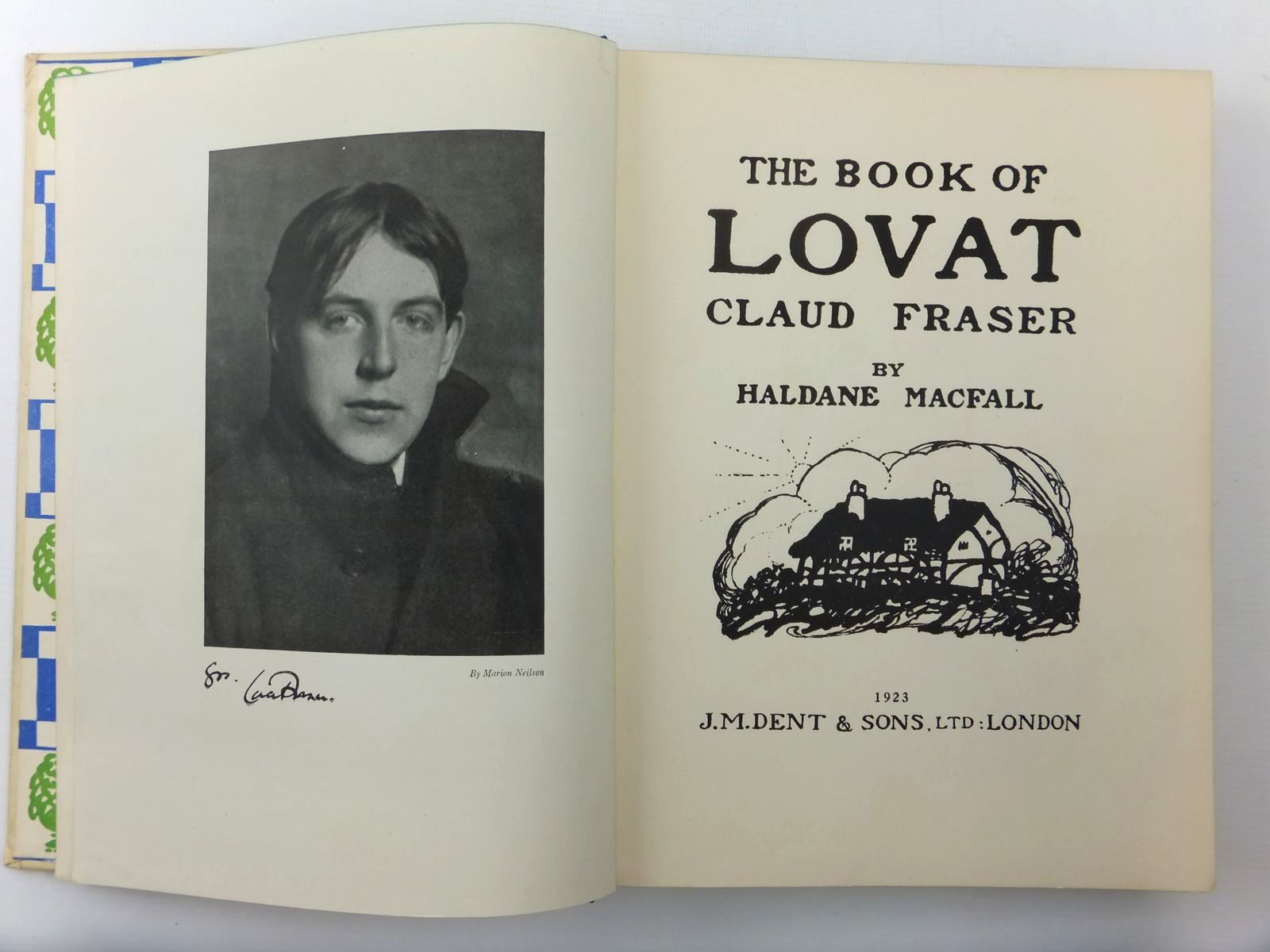 Photo of THE BOOK OF LOVAT CLAUD FRASER written by MacFall, Haldane illustrated by Fraser, Claud Lovat published by J.M. Dent & Sons Ltd. (STOCK CODE: 2123610)  for sale by Stella & Rose's Books