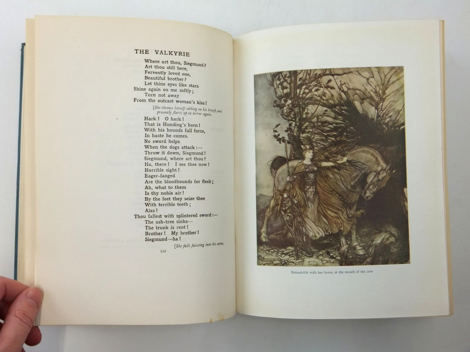 Photo of THE RING OF THE NIBLUNG written by Wagner, Richard illustrated by Rackham, Arthur published by William Heinemann Ltd. (STOCK CODE: 2123614)  for sale by Stella & Rose's Books