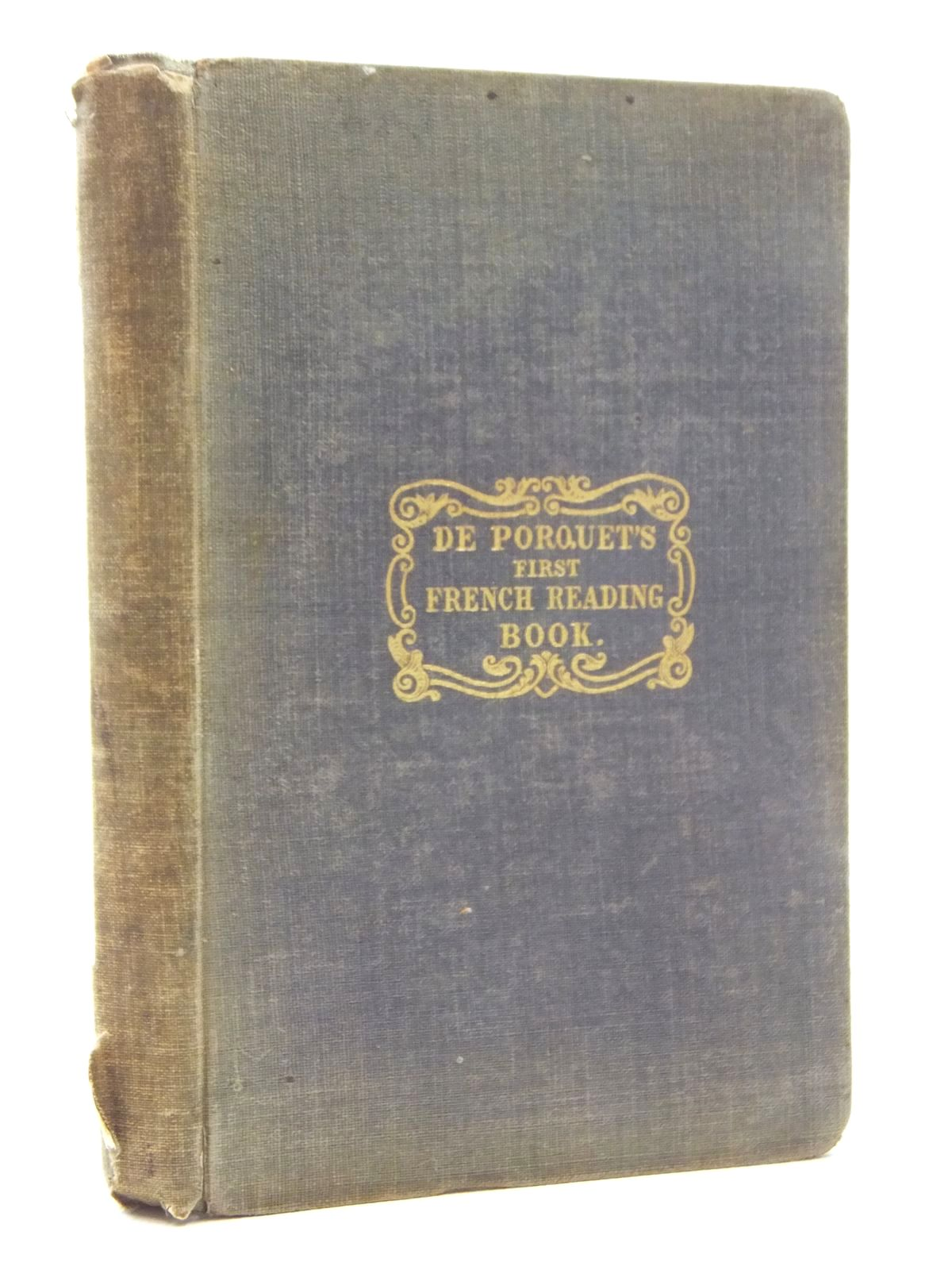 Photo of FIRST FRENCH READING-BOOK- Stock Number: 2123743