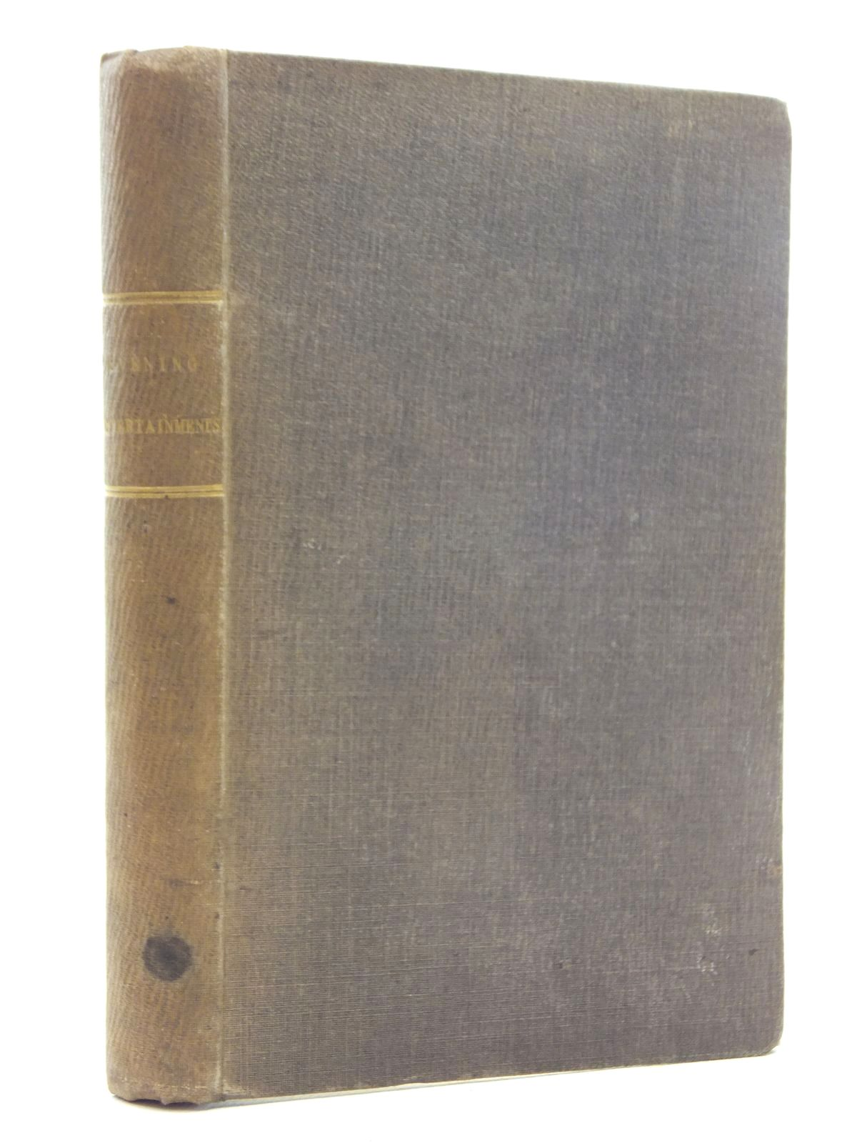 Photo of EVENING ENTERTAINMENTS; OR DELINEATIONS OF THE MANNERS AND CUSTOMS OF VARIOUS NATIONS- Stock Number: 2123745