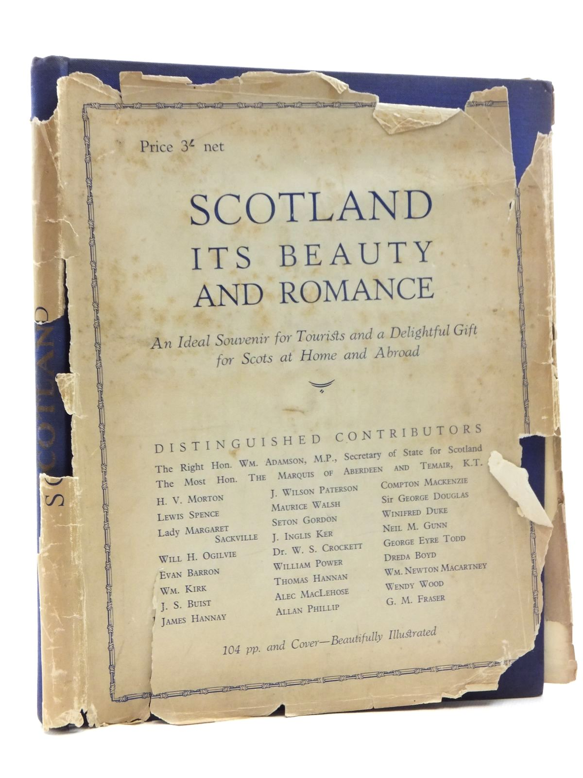 Photo of SCOTLAND ITS BEAUTY AND ROMANCE written by Adamson, William<br />et al, published by The Travel Press &amp; Publicity Co. (STOCK CODE: 2123804)  for sale by Stella & Rose's Books