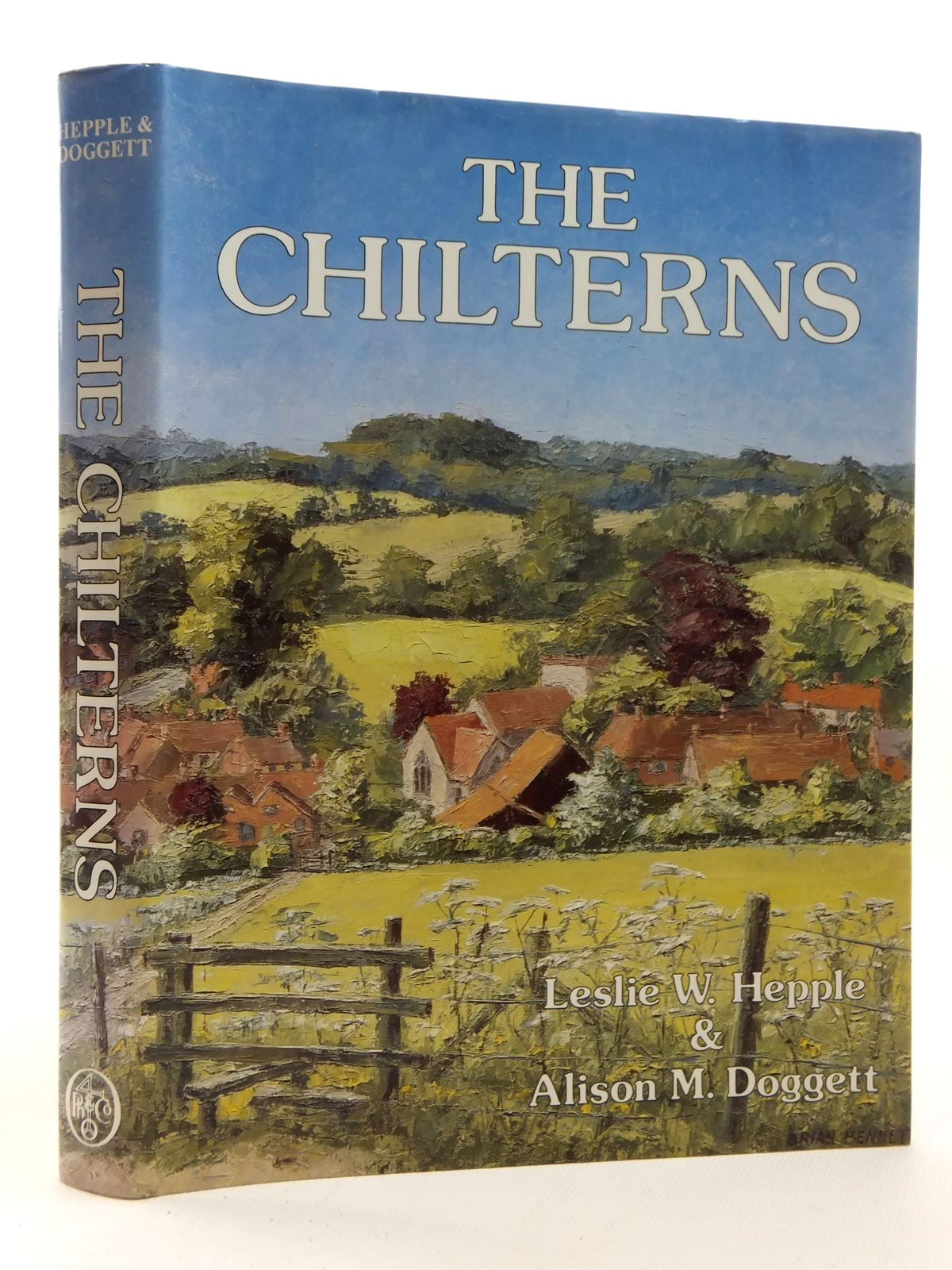 Photo of THE CHILTERNS written by Hepple, Leslie W. Doggett, Alison M. published by Phillimore & Co. Ltd. (STOCK CODE: 2123919)  for sale by Stella & Rose's Books