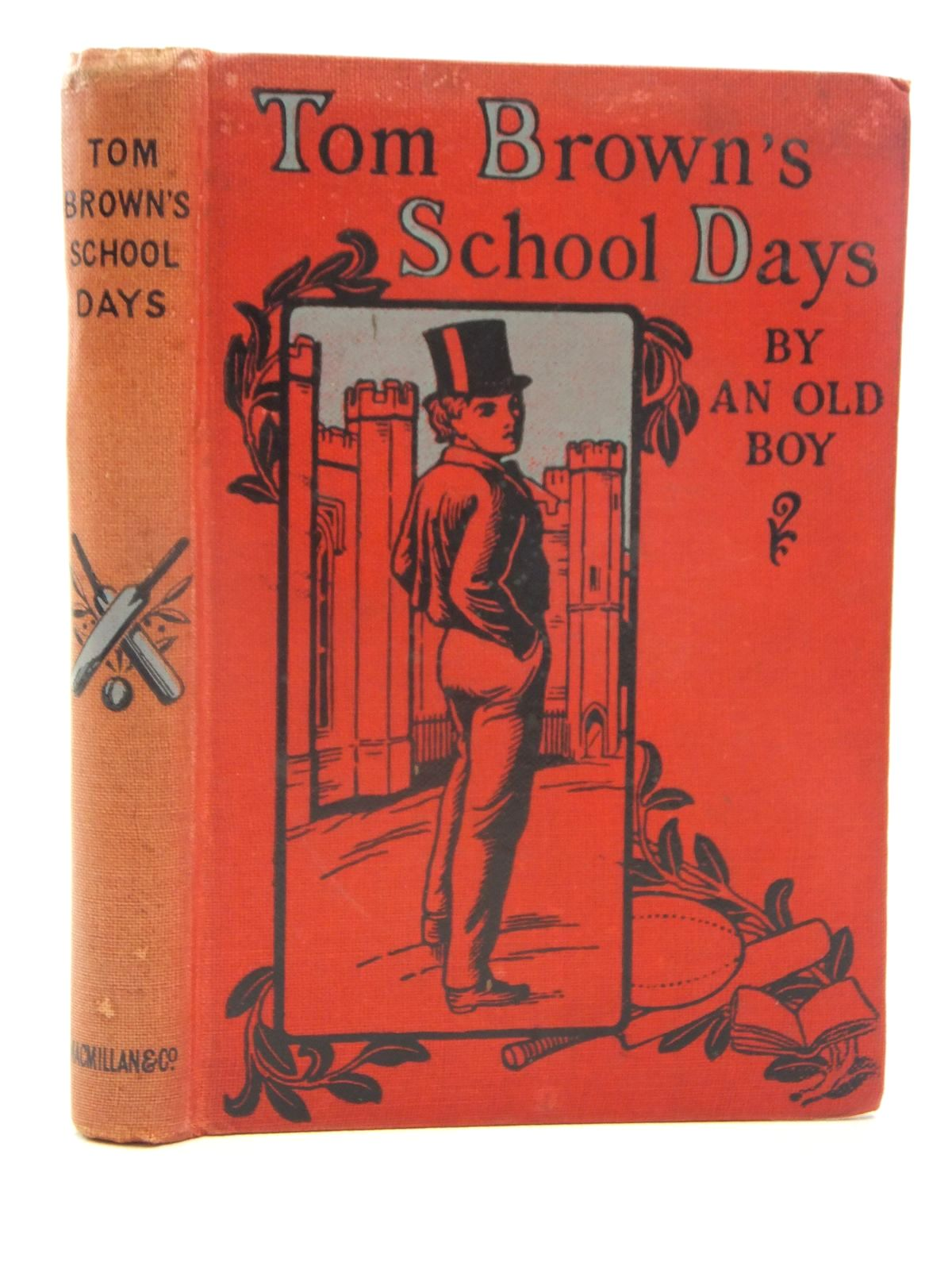 Photo of TOM BROWN'S SCHOOL DAYS written by Hughes, Thomas published by Macmillan & Co. Ltd. (STOCK CODE: 2124000)  for sale by Stella & Rose's Books