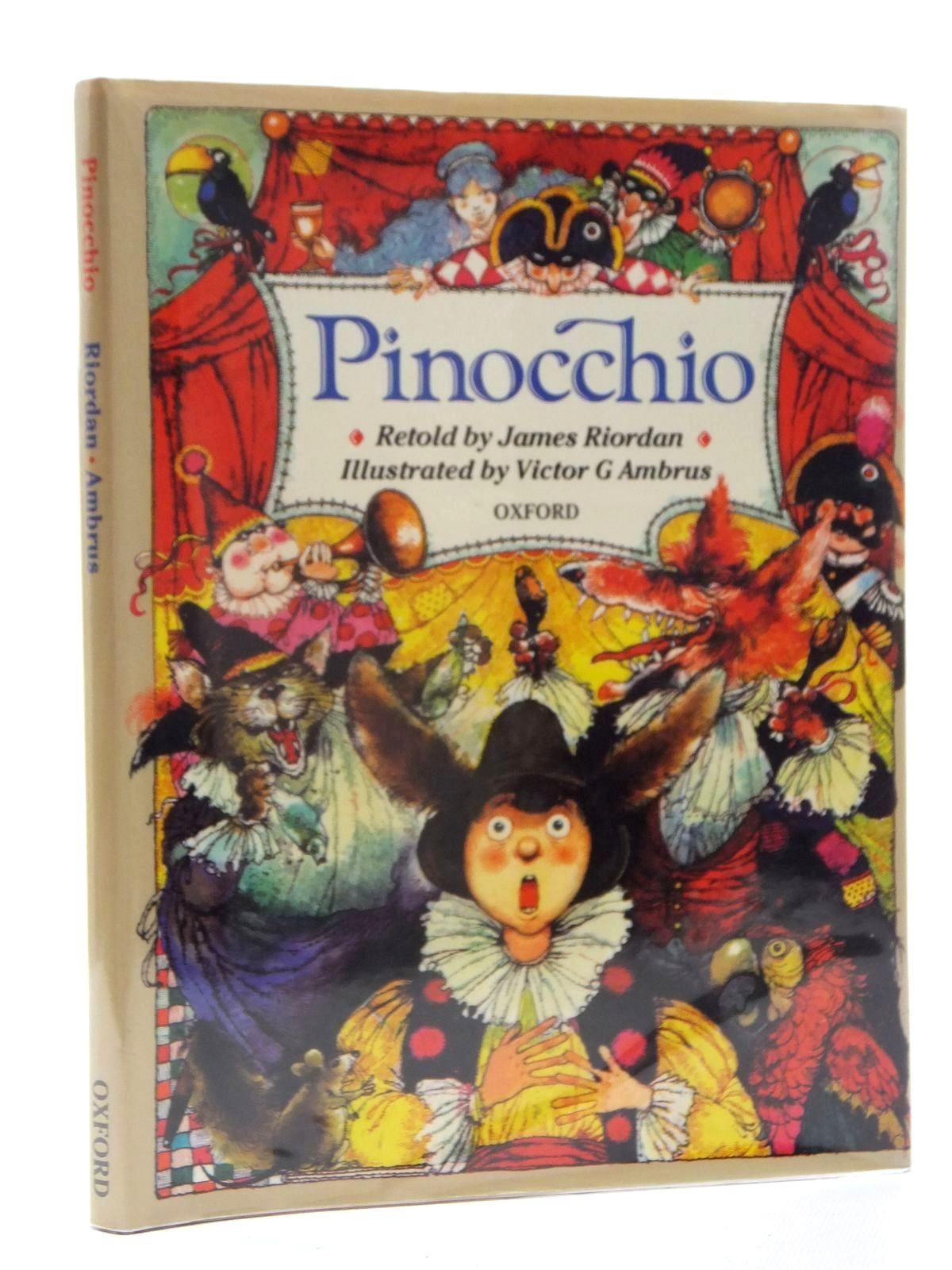 Photo of PINOCCHIO written by Collodi, Carlo Riordan, James illustrated by Ambrus, Victor G. published by Oxford University Press (STOCK CODE: 2124007)  for sale by Stella & Rose's Books