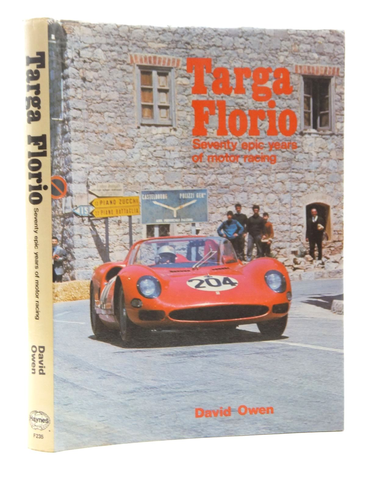 Photo of TARGA FLORIO written by Owen, David published by Foulis, Haynes (STOCK CODE: 2124046)  for sale by Stella & Rose's Books