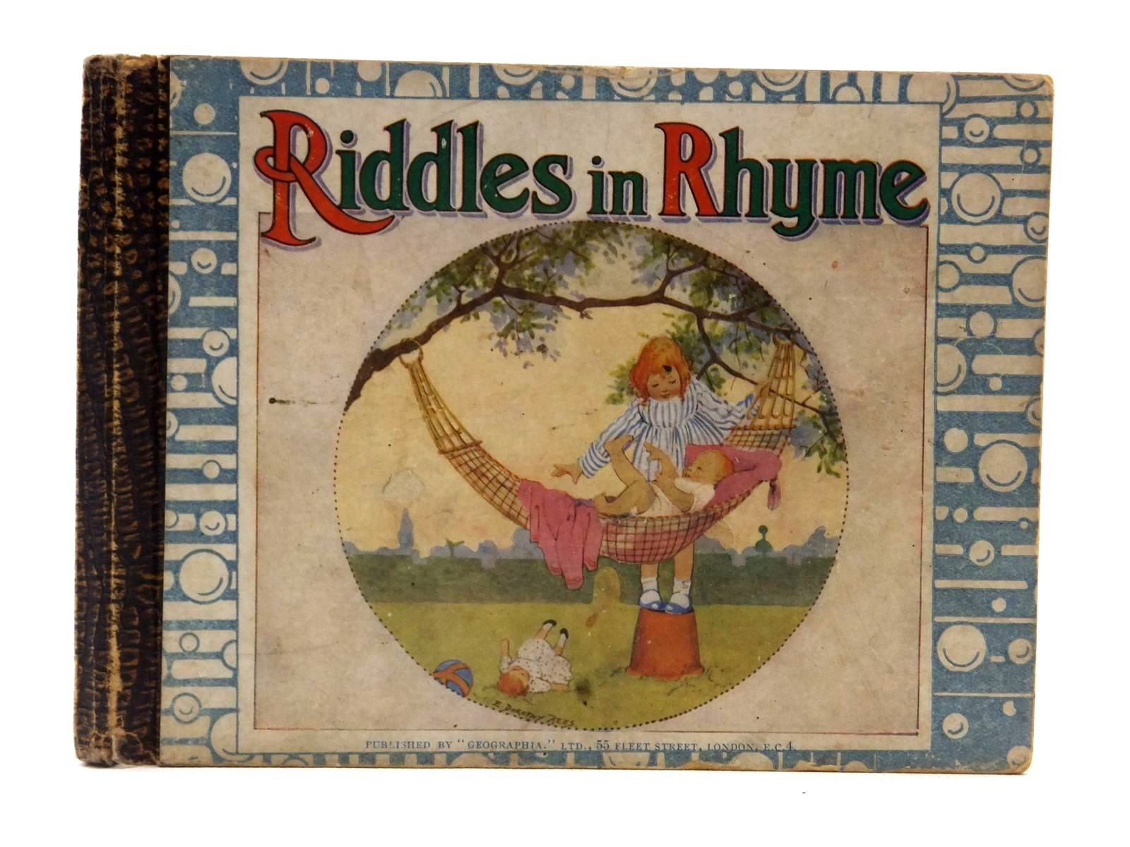 Photo of ORIGINAL RIDDLES IN RHYME- Stock Number: 2124069