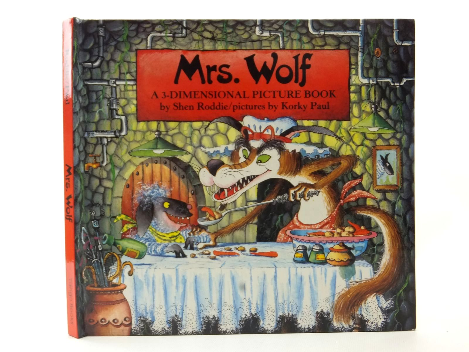 Photo of MRS. WOLF A 3-DIMENSIONAL PICTURE BOOK written by Roddie, Shen illustrated by Paul, Korky published by Tango Books (STOCK CODE: 2124114)  for sale by Stella & Rose's Books