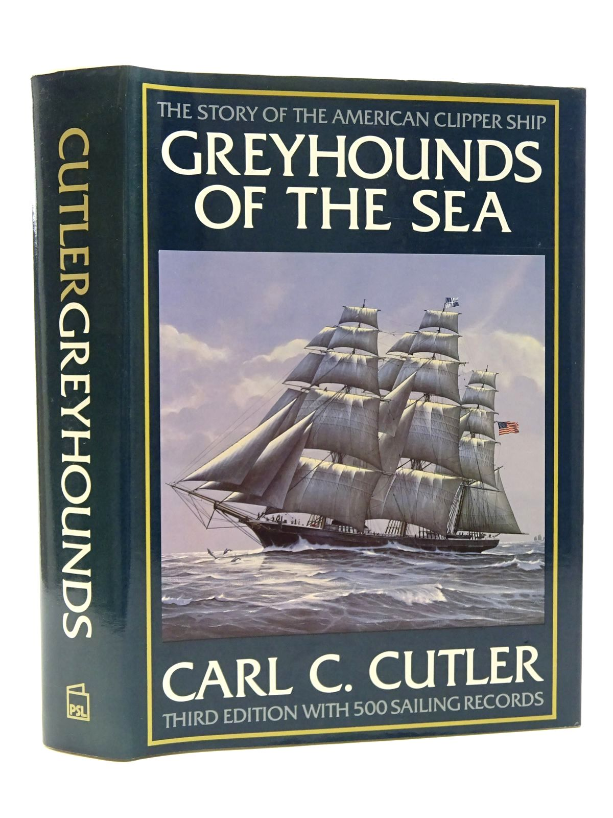 Photo of GREYHOUNDS OF THE SEA written by Cutler, Carl published by Patrick Stephens (STOCK CODE: 2124155)  for sale by Stella & Rose's Books