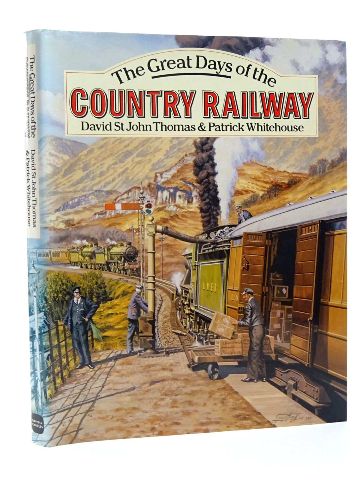 Photo of THE GREAT DAYS OF THE COUNTRY RAILWAY written by Thomas, David St John