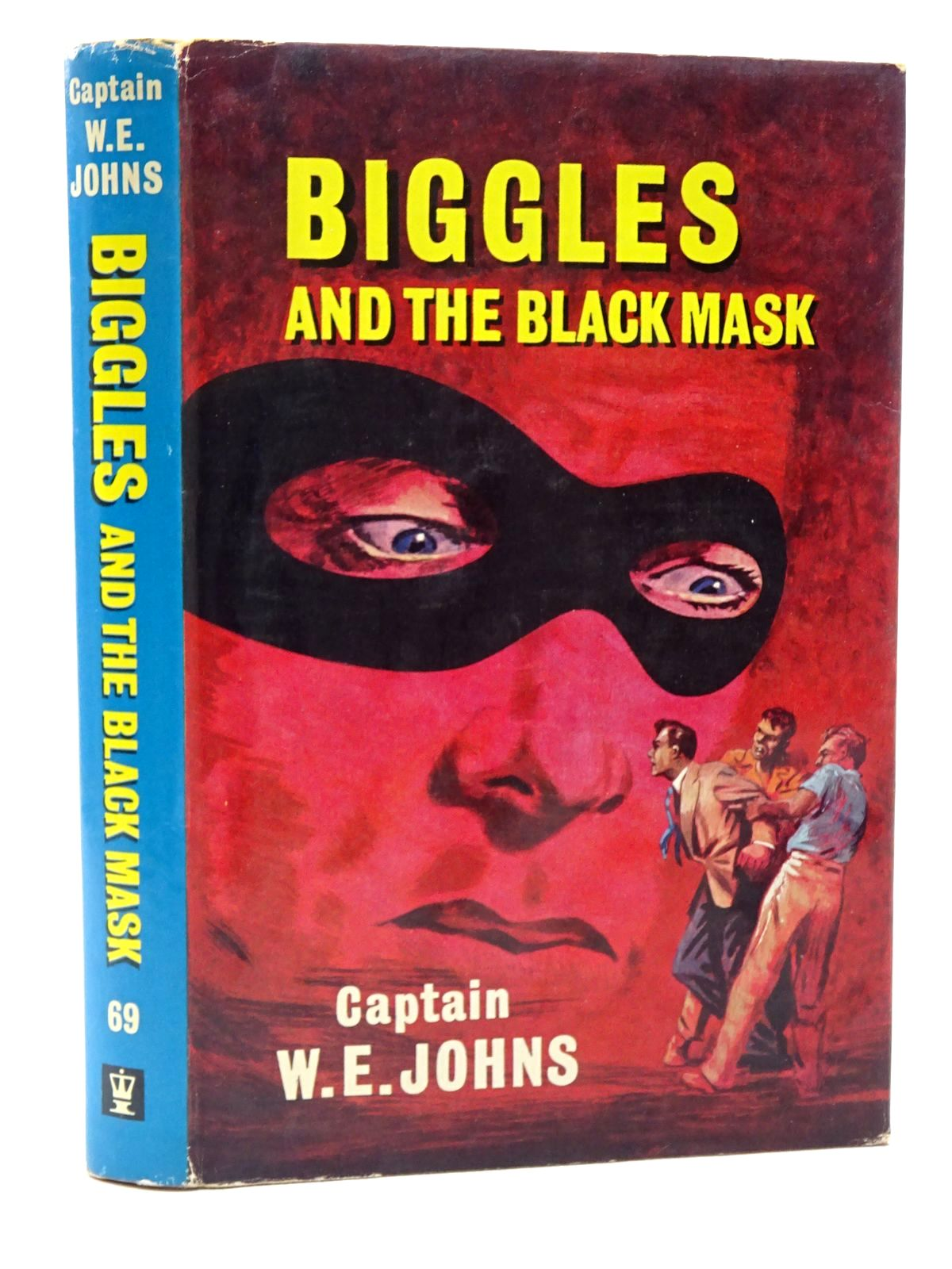 Photo of BIGGLES AND THE BLACK MASK written by Johns, W.E. illustrated by Stead,  published by Hodder & Stoughton (STOCK CODE: 2124257)  for sale by Stella & Rose's Books
